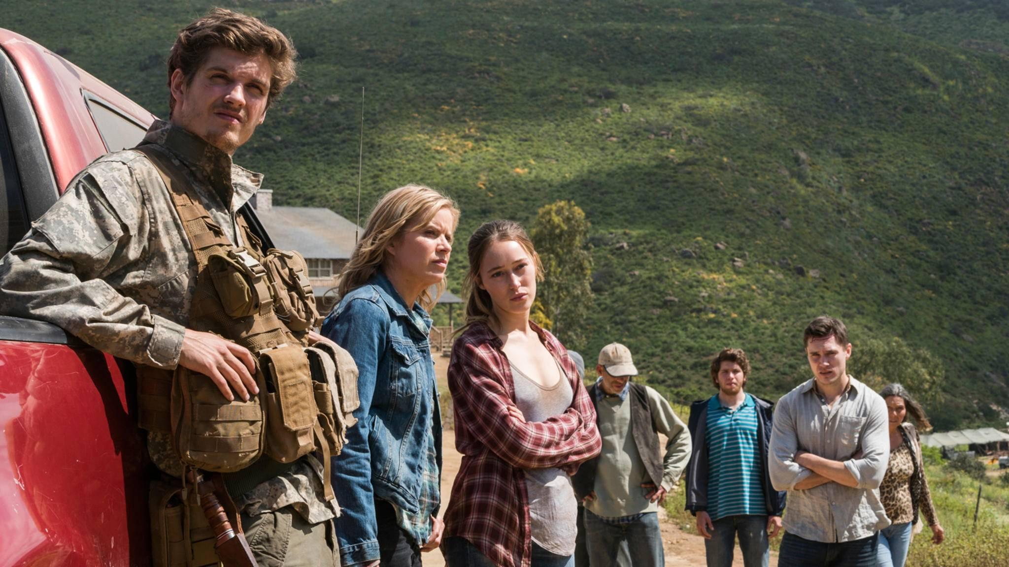 """Die Aussichten für den Rest von Staffel 3 sind für die Charaktere aus """"Fear the Walking Dead"""" alles andere als rosig."""
