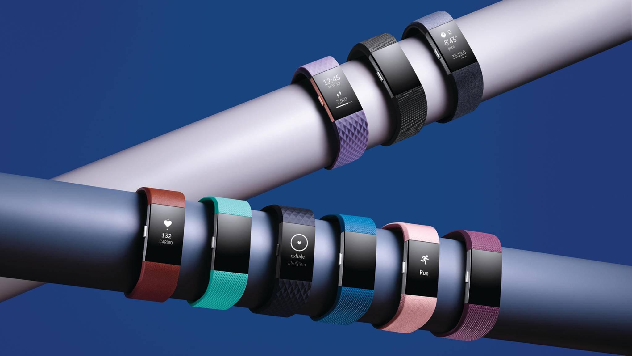 Fitbit soll mit den Trackern Fitbit Charge 2 und Fitbit Alta HR an einer groß angelegten Gesundheitsstudie beteiligt werden.