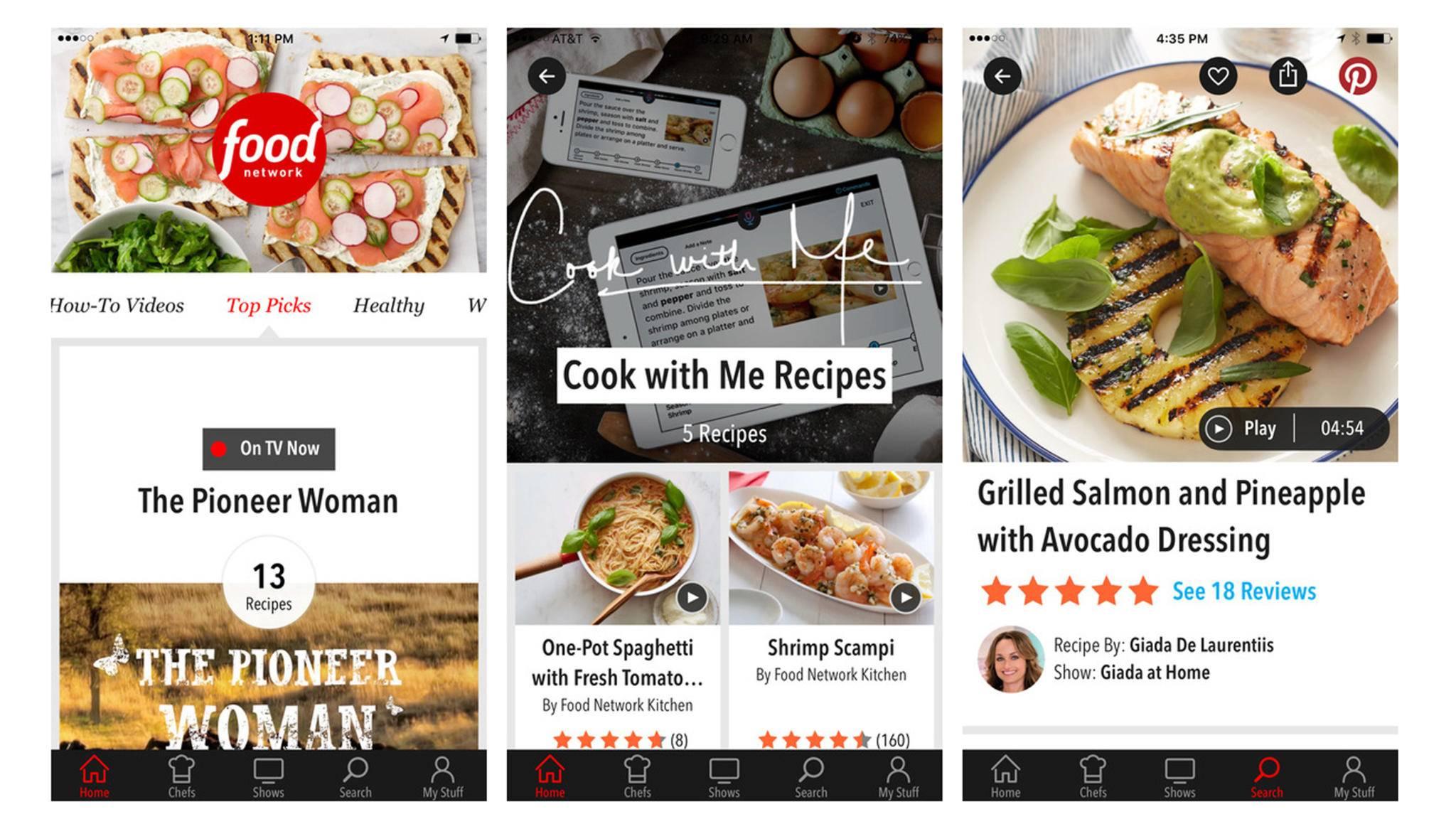 Die App In The Kitchen kann ab sofort freihändig benutzt werden.