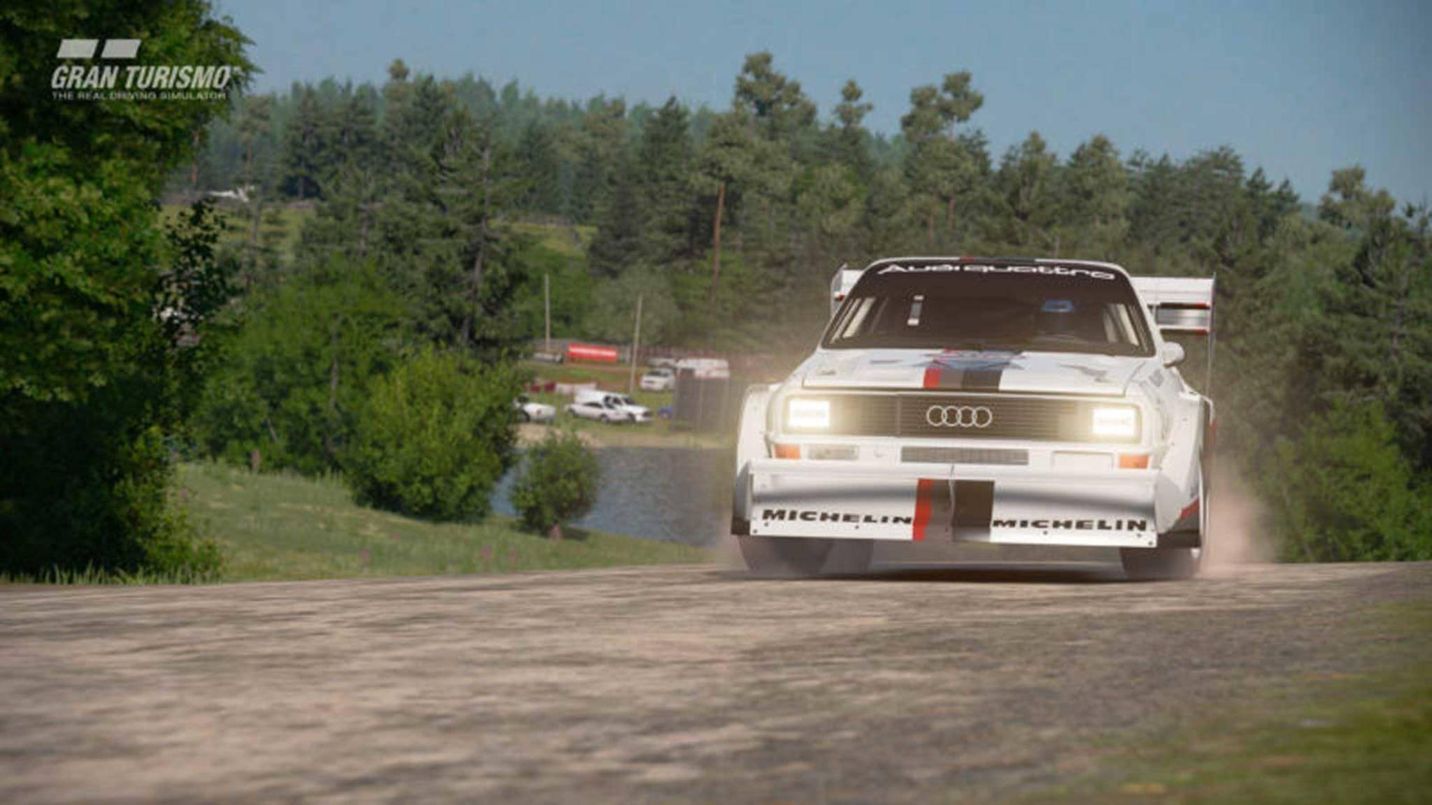 Der Audi Quattro S1 Pikes Peak ist zum ersten Mal zu sehen.