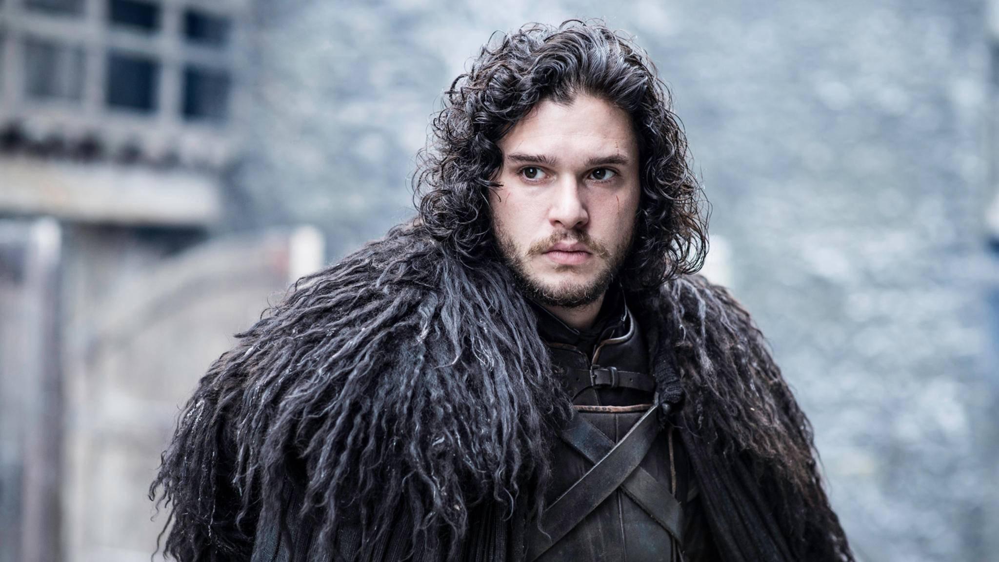 """Auch """"Game of Thrones""""-Liebling Jon Snow gibt es in Briefmarkenform."""