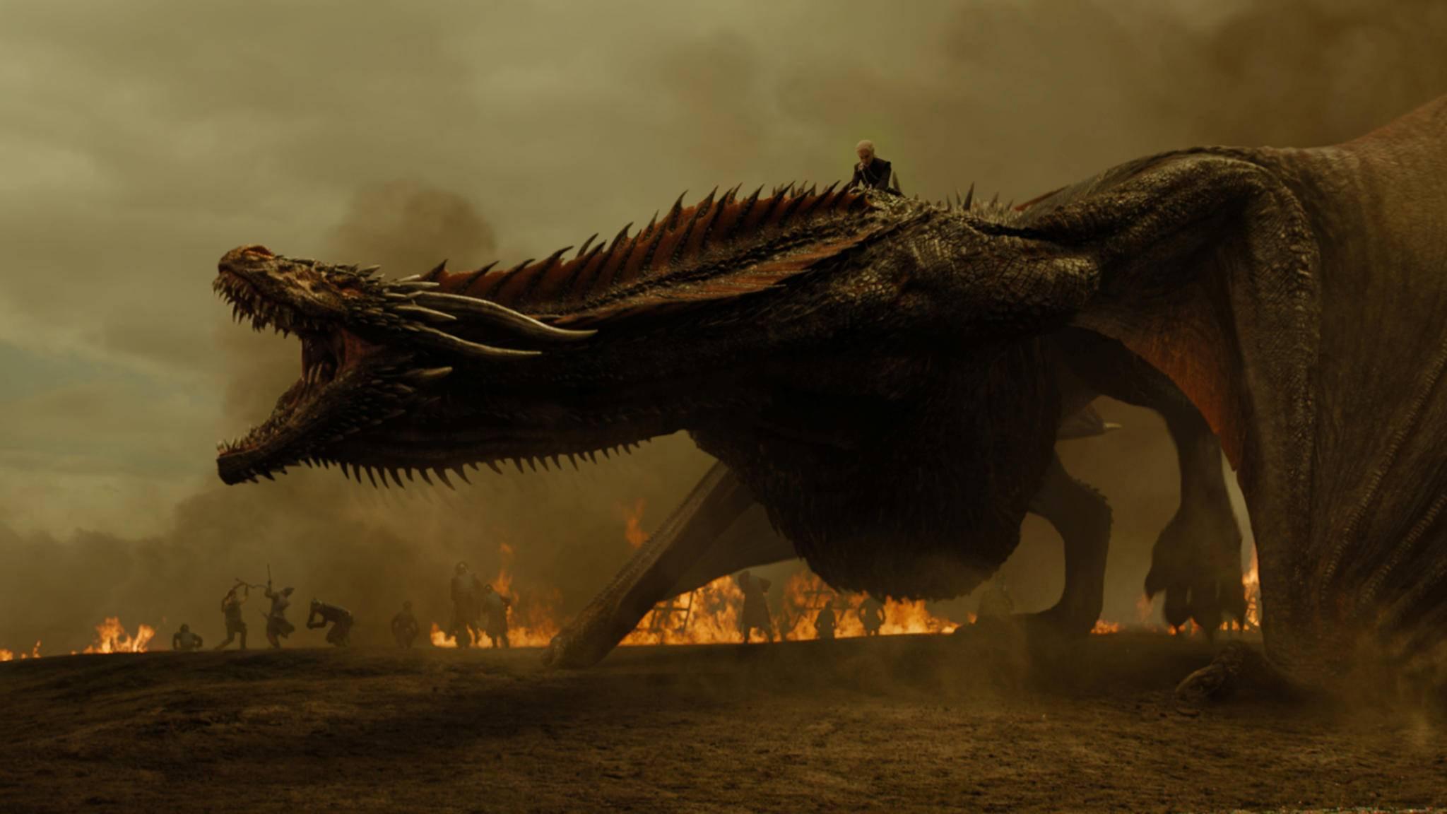 """Wird es in einem der """"Game of Thrones""""-Spin-offs wohl ein Wiedersehen mit den gigantischen Drachen geben?"""