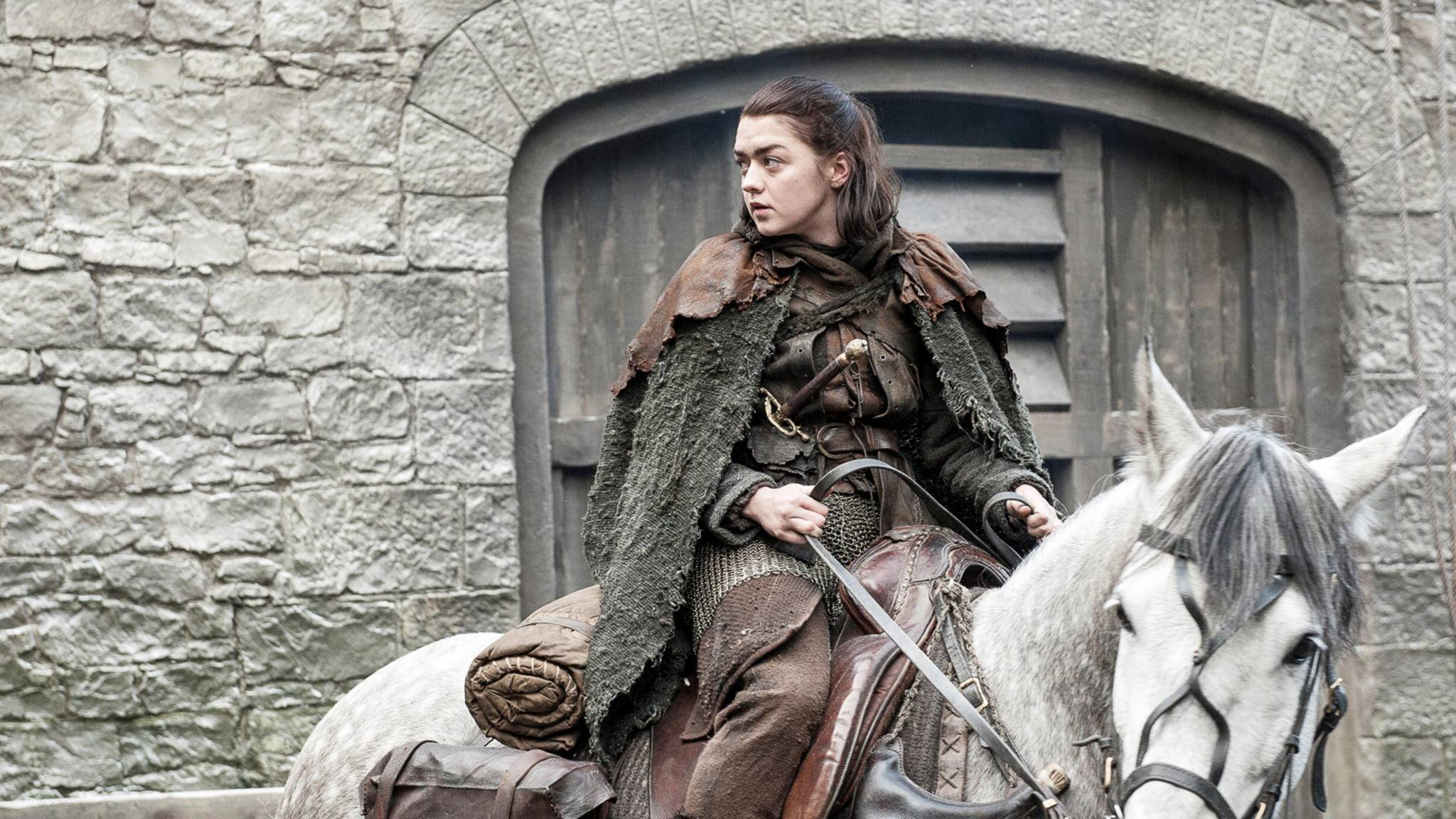 Arya Stark weiß, wie gut gebackene Schattenwolf-Brote schmecken.