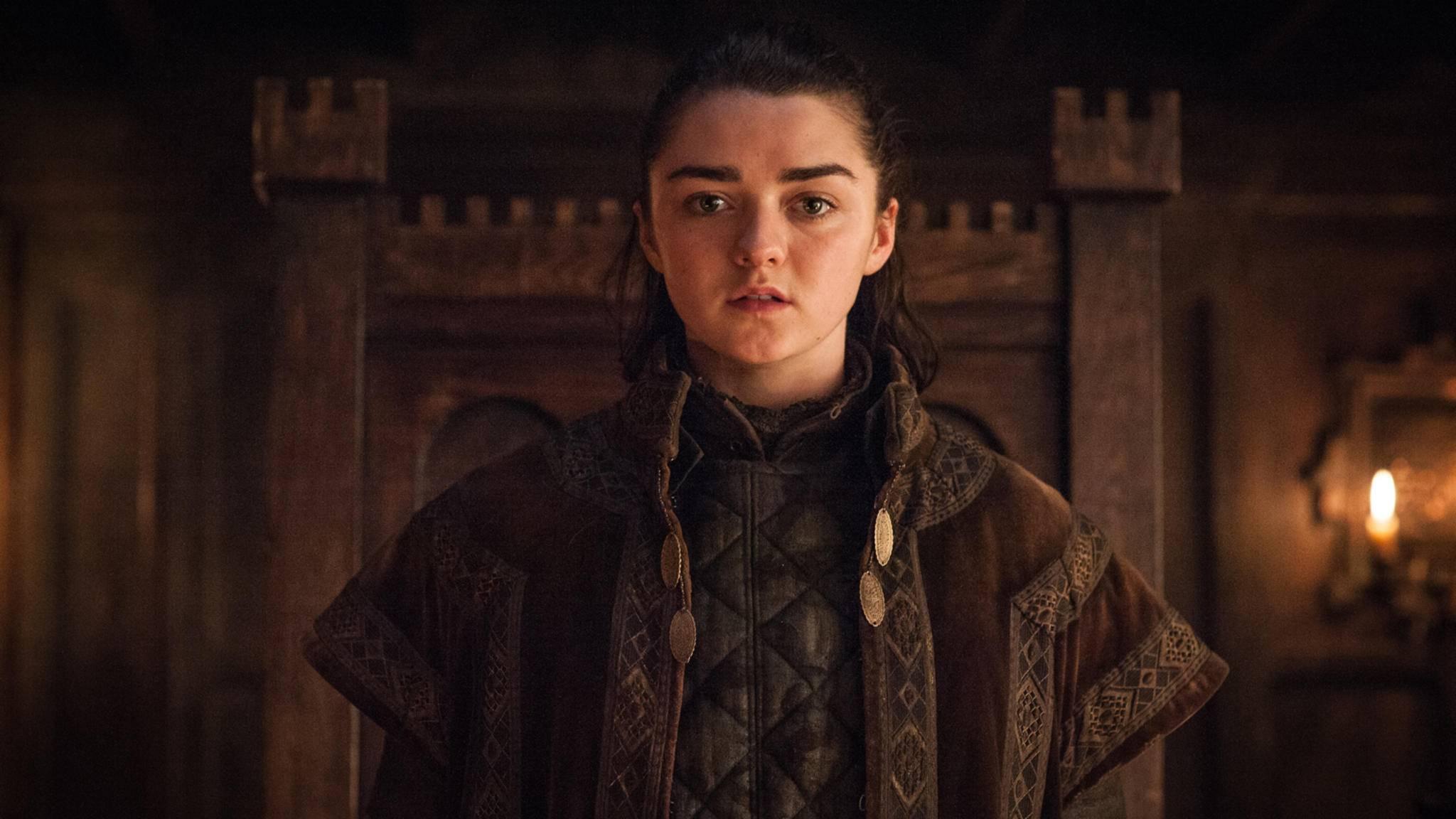 Voraussichtlich sechsmal können wir Maisie Williams noch als Arya Stark sehen, dann ist Schluss!