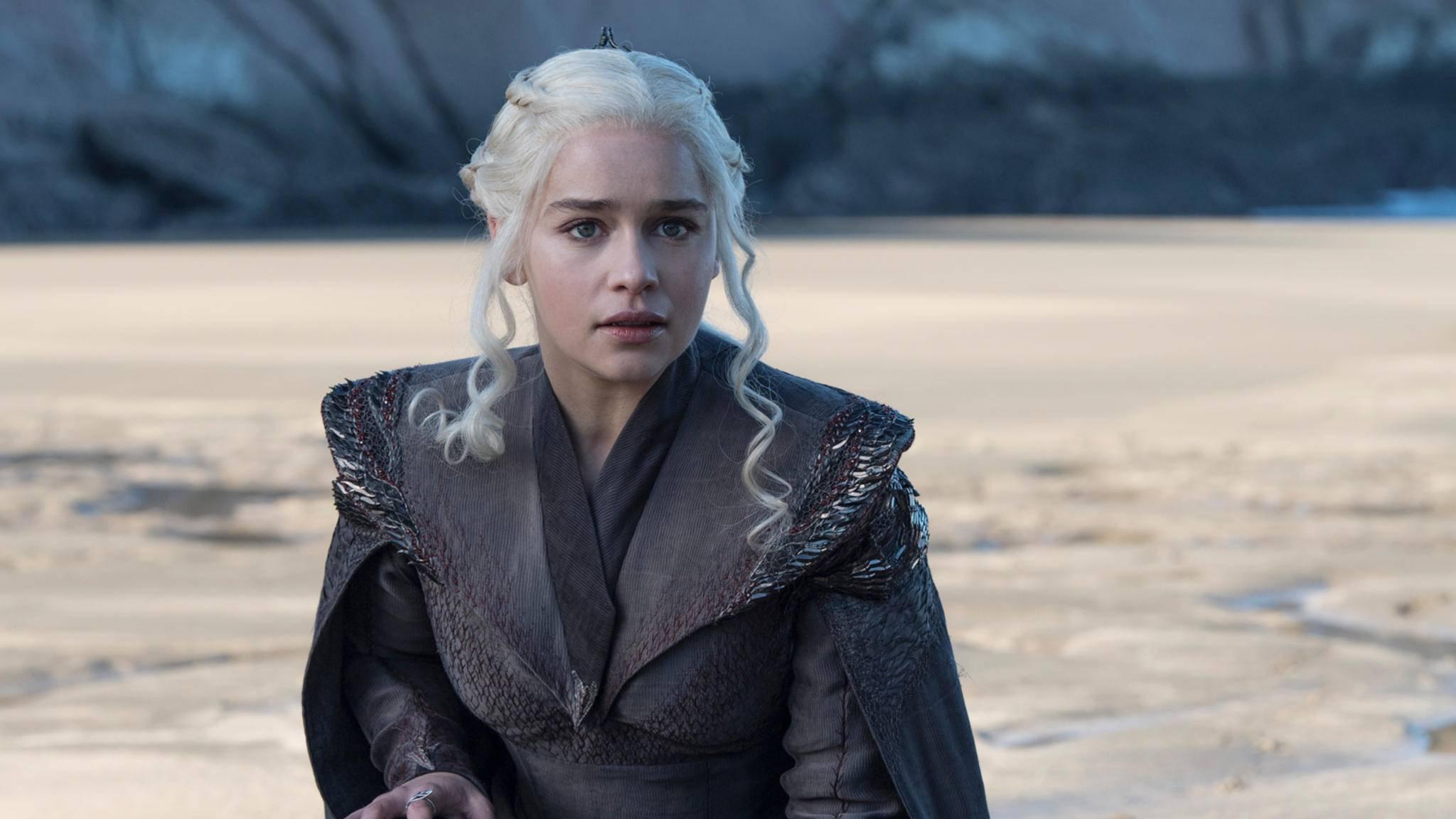 Endlich angekommen: Daenerys Targaryen erreicht mit ihrer Flotte Drachenstein.