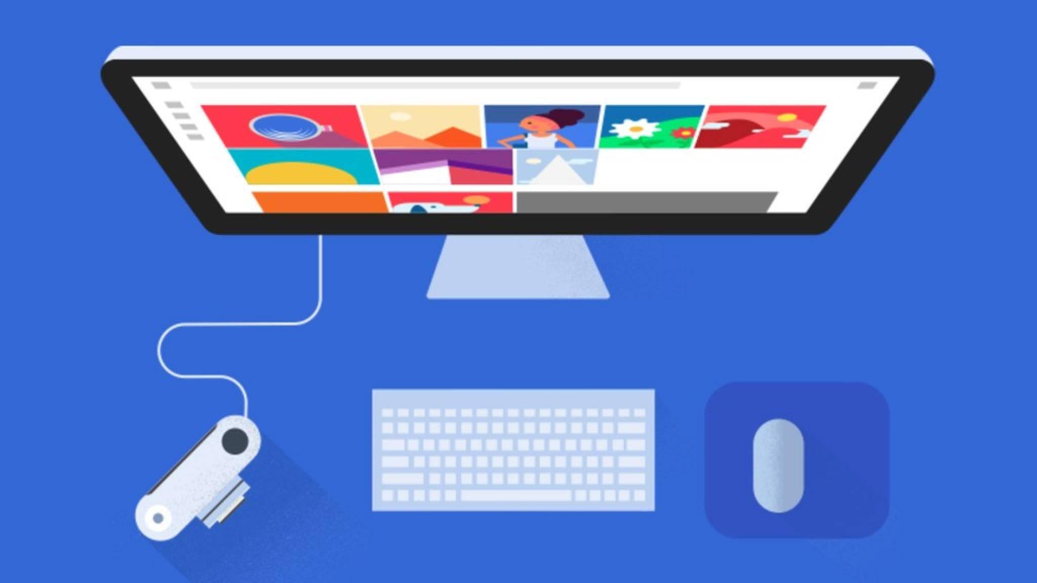 Die Google-Fotos-Software bietet nun auch auf dem Desktop ein Foto-Backup.
