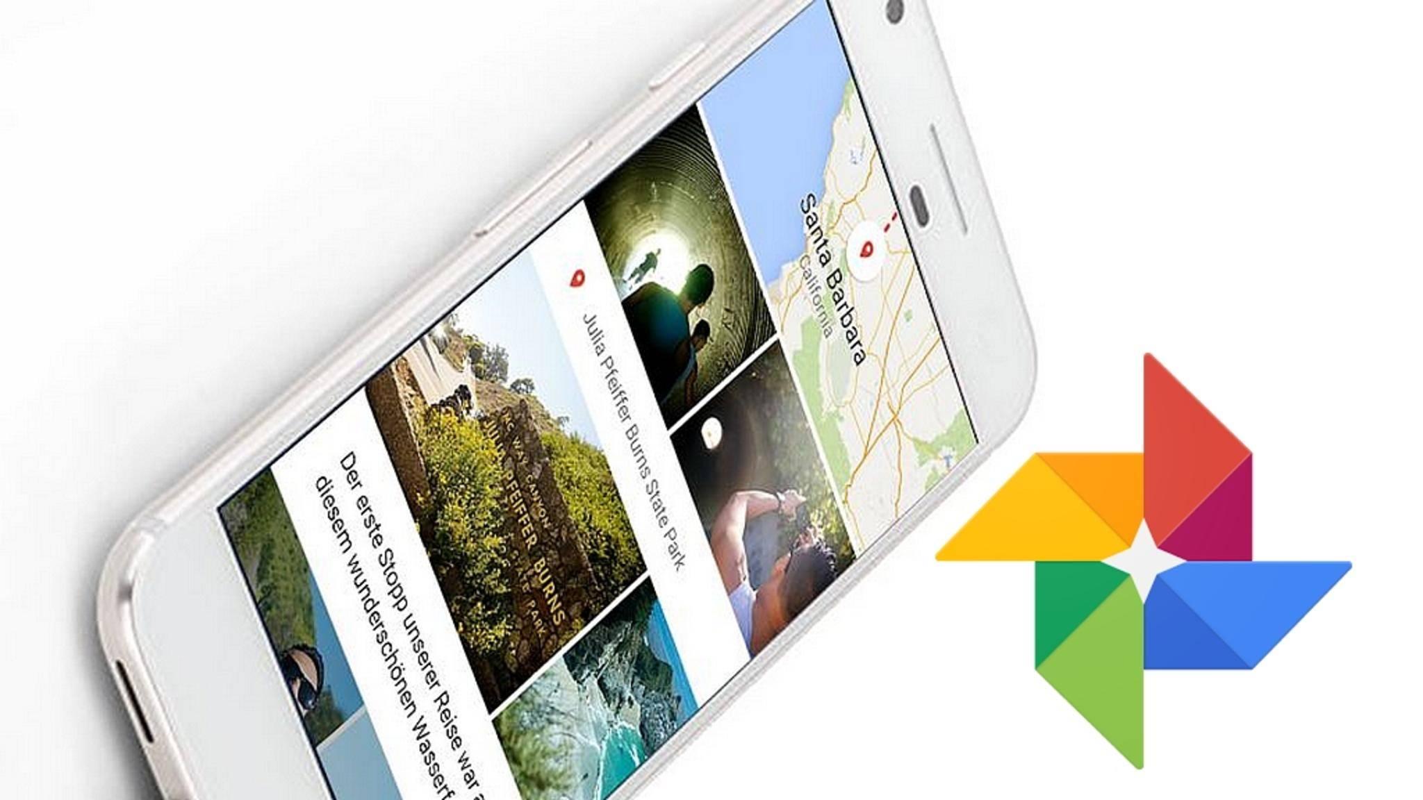 Google Fotos ist ein kostenloser Cloudspeicher für unbegrenzt viele Fotos.