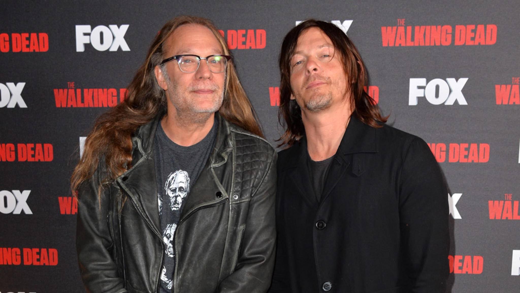 """The Walking Dead""-Produzent Greg Nicotero (links) arbeitet am nächsten Horror-Hit."