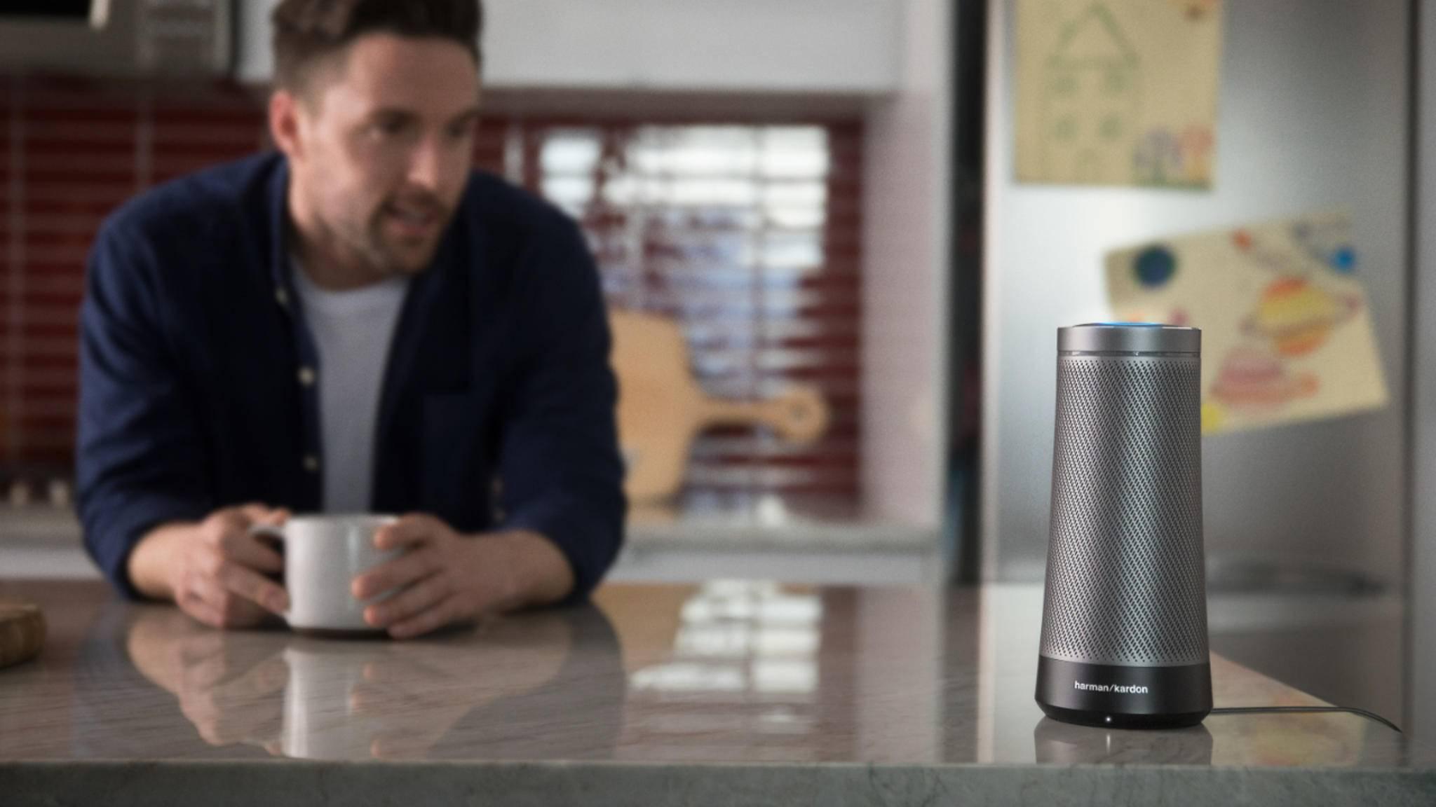 Der Harman Kardon Invoke hat dreimal so viele Lautsprecher wie der Amazon Echo.