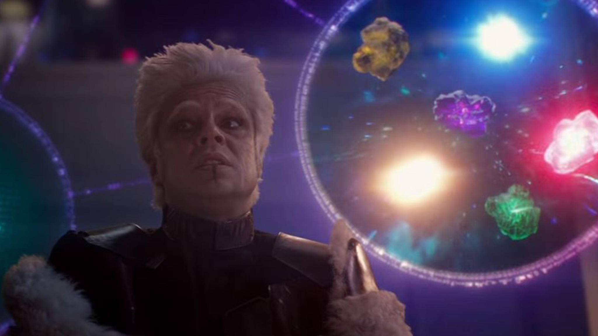 """In """"Guardians of the Galaxy"""" erklärte der Collector die Entstehung der Infinity Steine."""