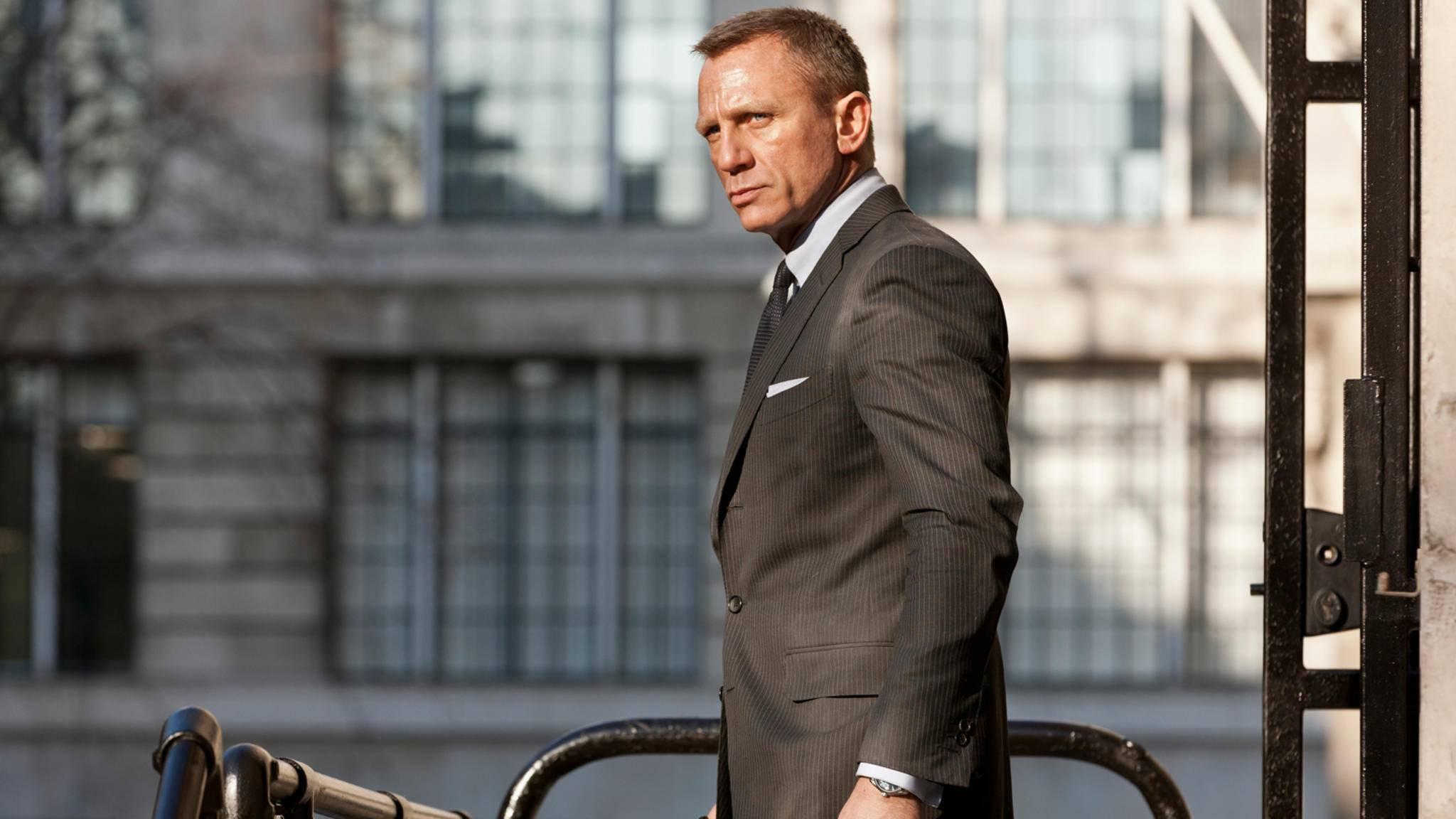 James Bond nimmt es mit der Pünktlichkeit offenbar nicht so genau ...