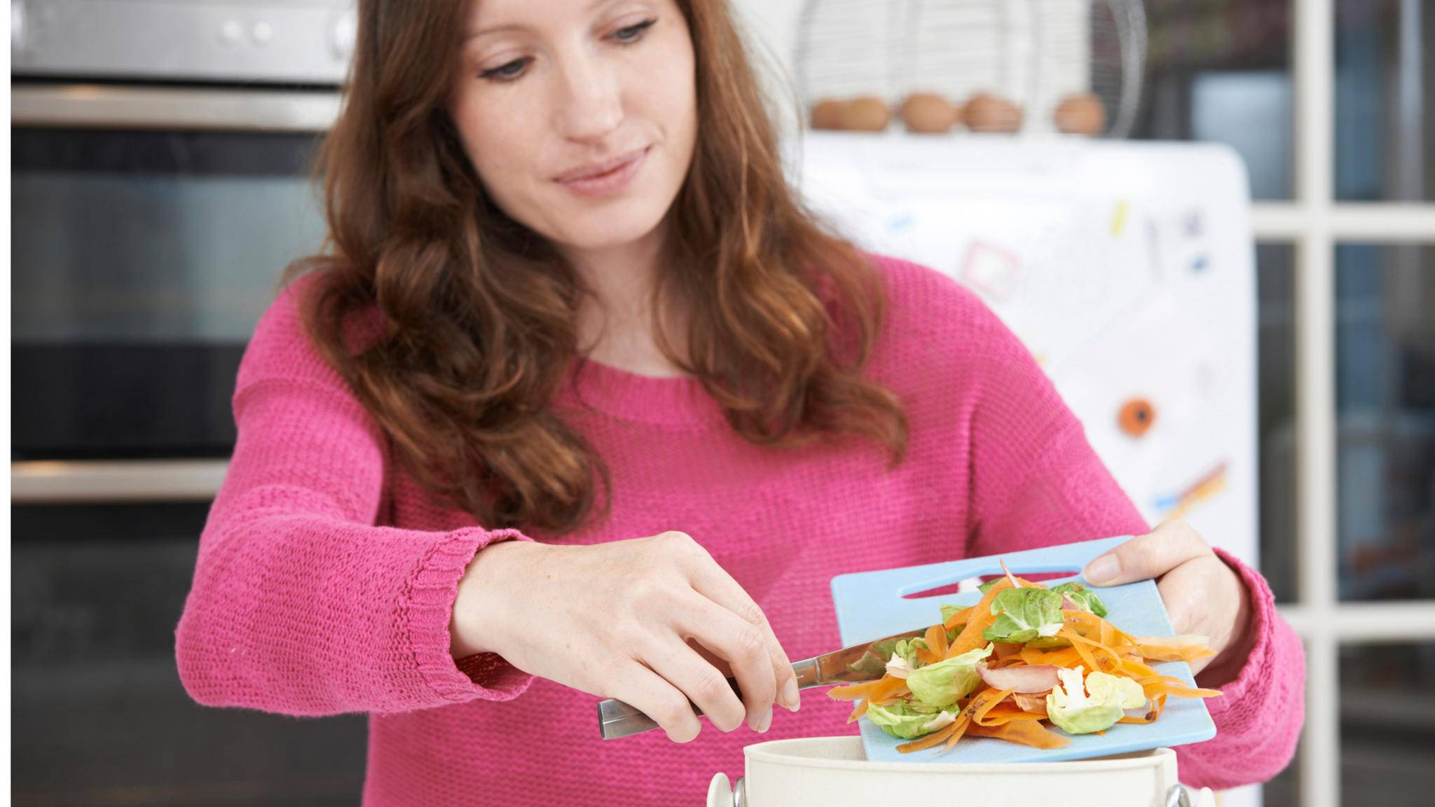 Küchenabfälle können sinnvoll kompostiert werden.