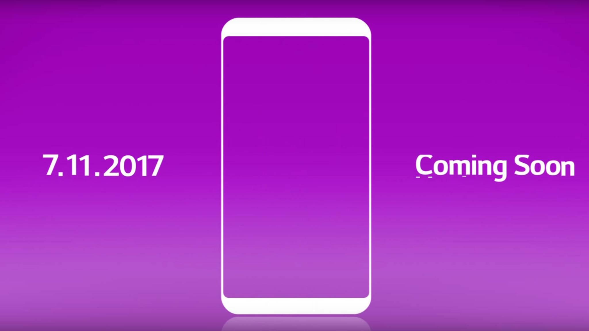 Am 11. Juli will LG ein neues Smartphone enthüllen – das LG Q6?