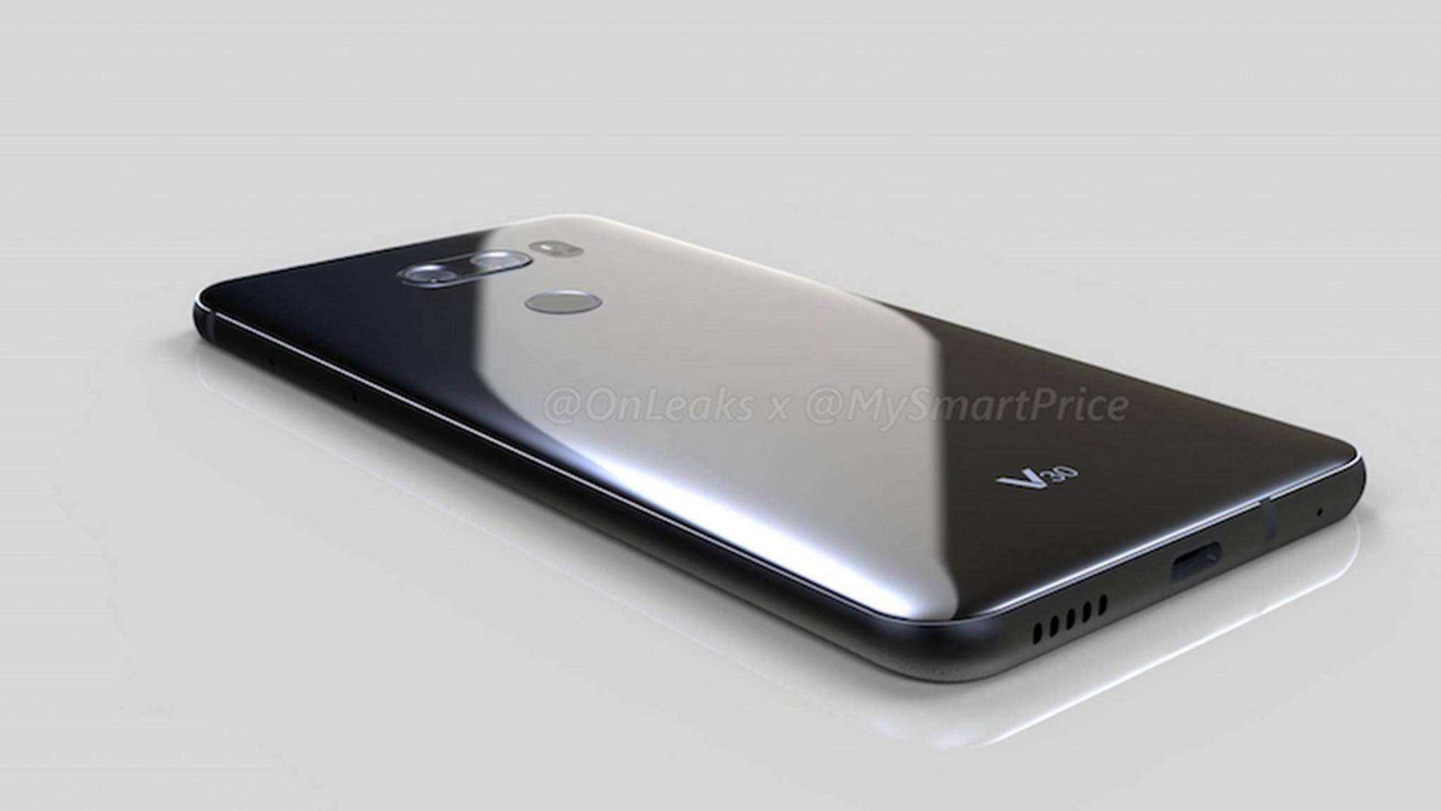 Wird so das LG V30 aussehen?