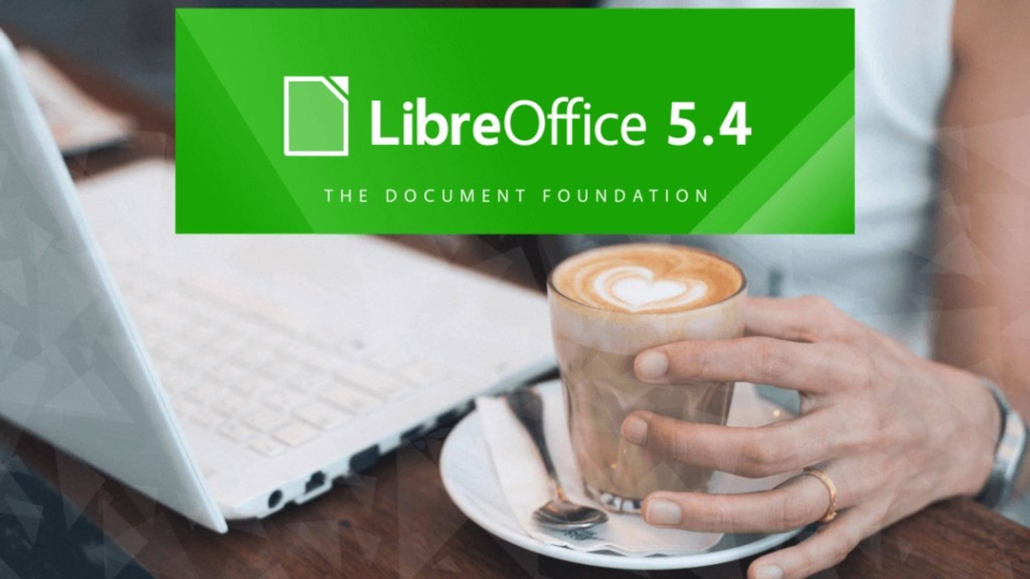 LibreOffice 5.4 bietet neue Features für alle enthaltenen Office-Programme.