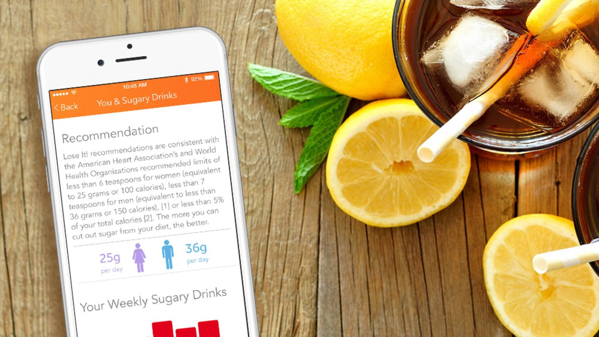 Dank Einblick in die DNA liefert die App Lose It! auf Nutzer zugeschnittene Tipps.