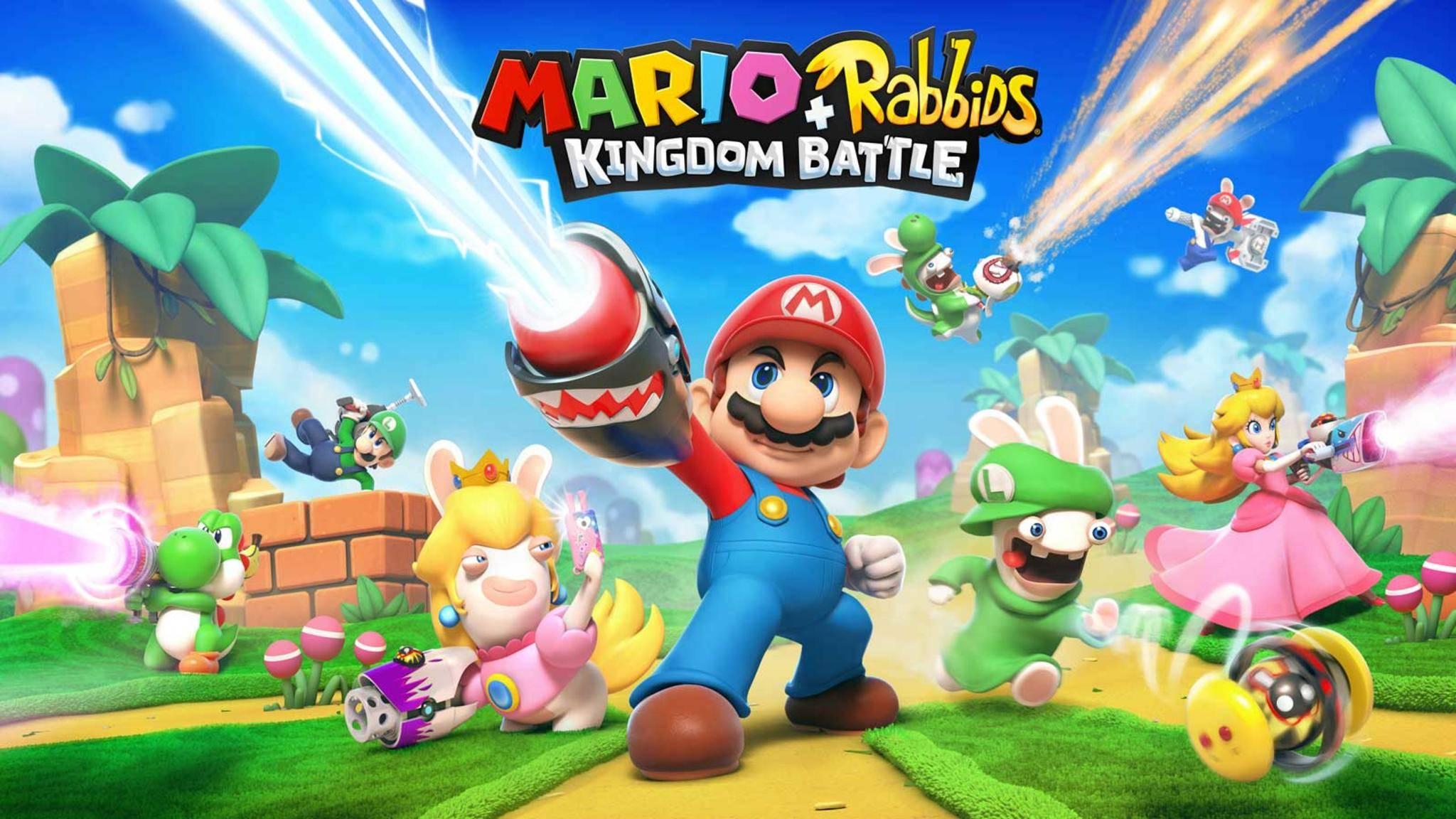 """""""Mario & Rabbids Kingdom Battle"""" kann ganz schön knifflig werden."""