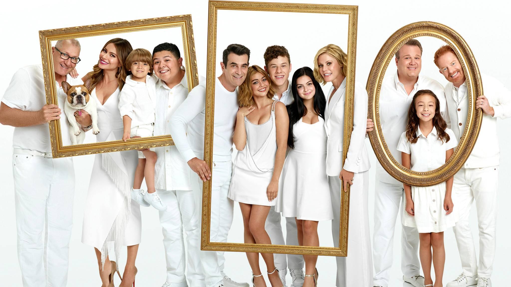 """Serienfamilien gehen wie in """"Modern Family"""" auch mit der Zeit."""