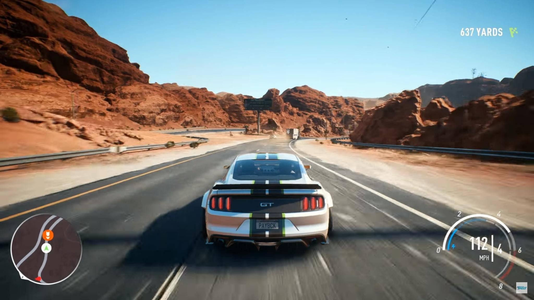 """Schluss mit einsamer Landstraße! Bald geht's in """"Need for Speed: Payback"""" im Online-Koop-Modus auf die Strecke."""