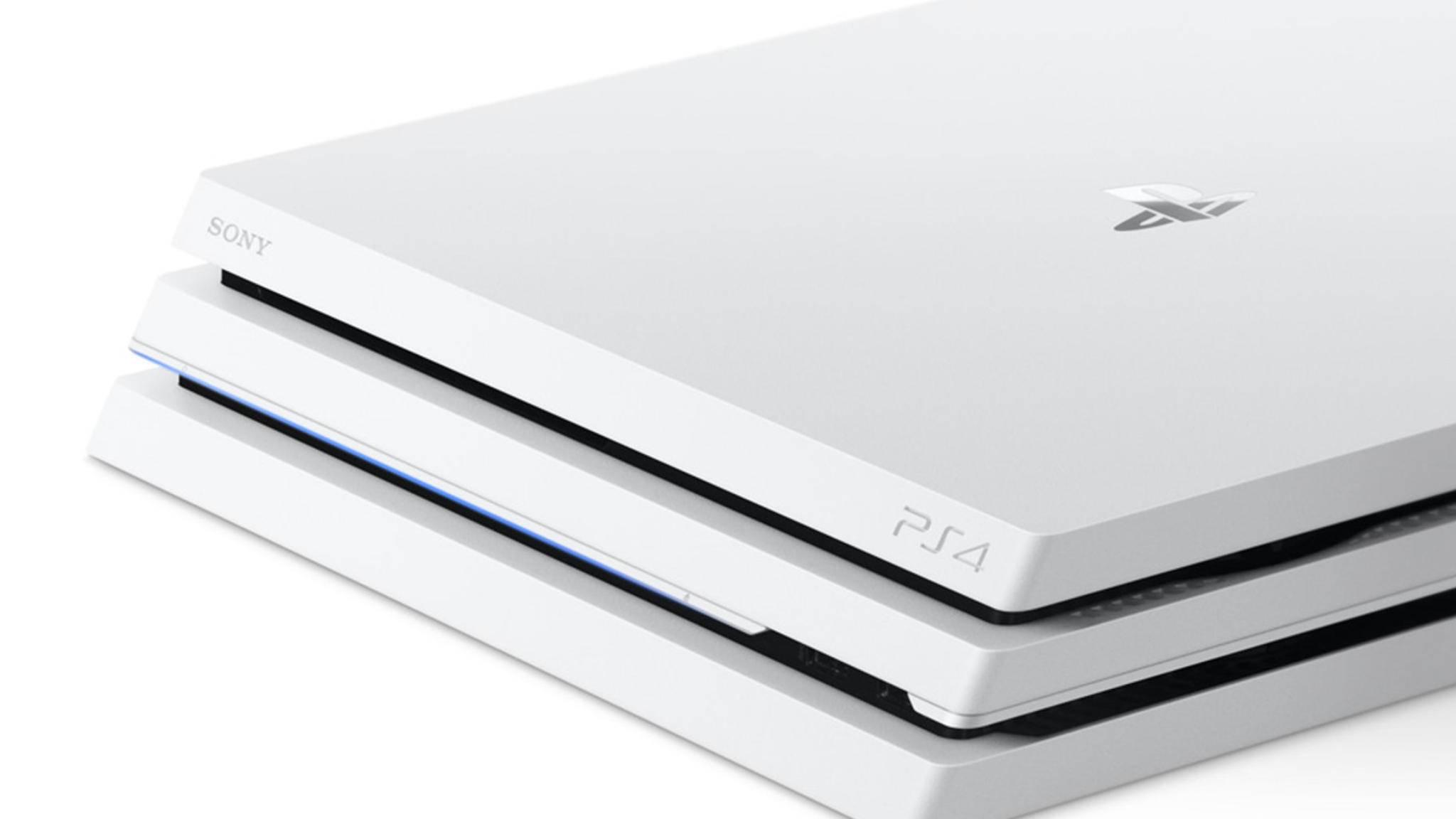"""Destiny 2"" sei Dank: Die PS4 Pro kommt in Weiß."