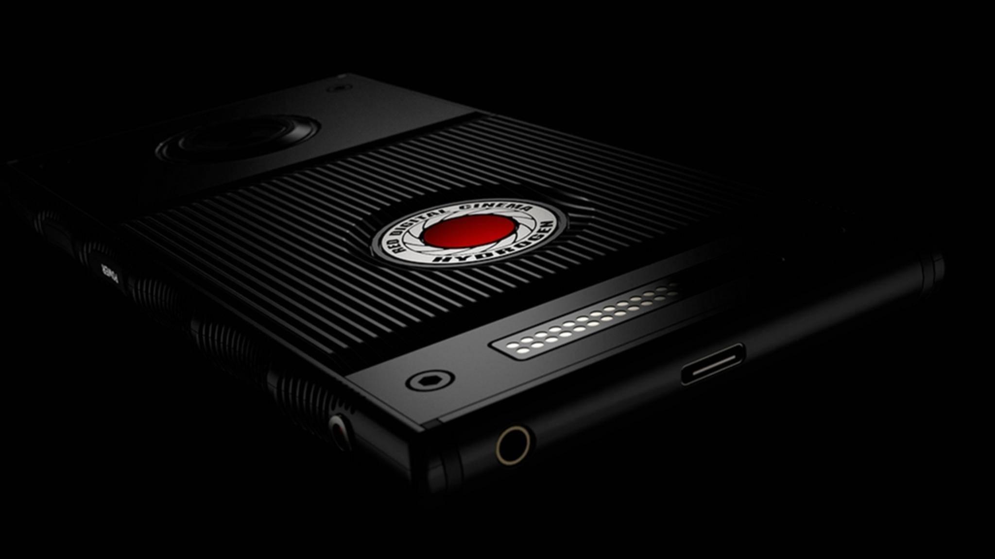Das RED Hydrogen One wird bald ausgeliefert.