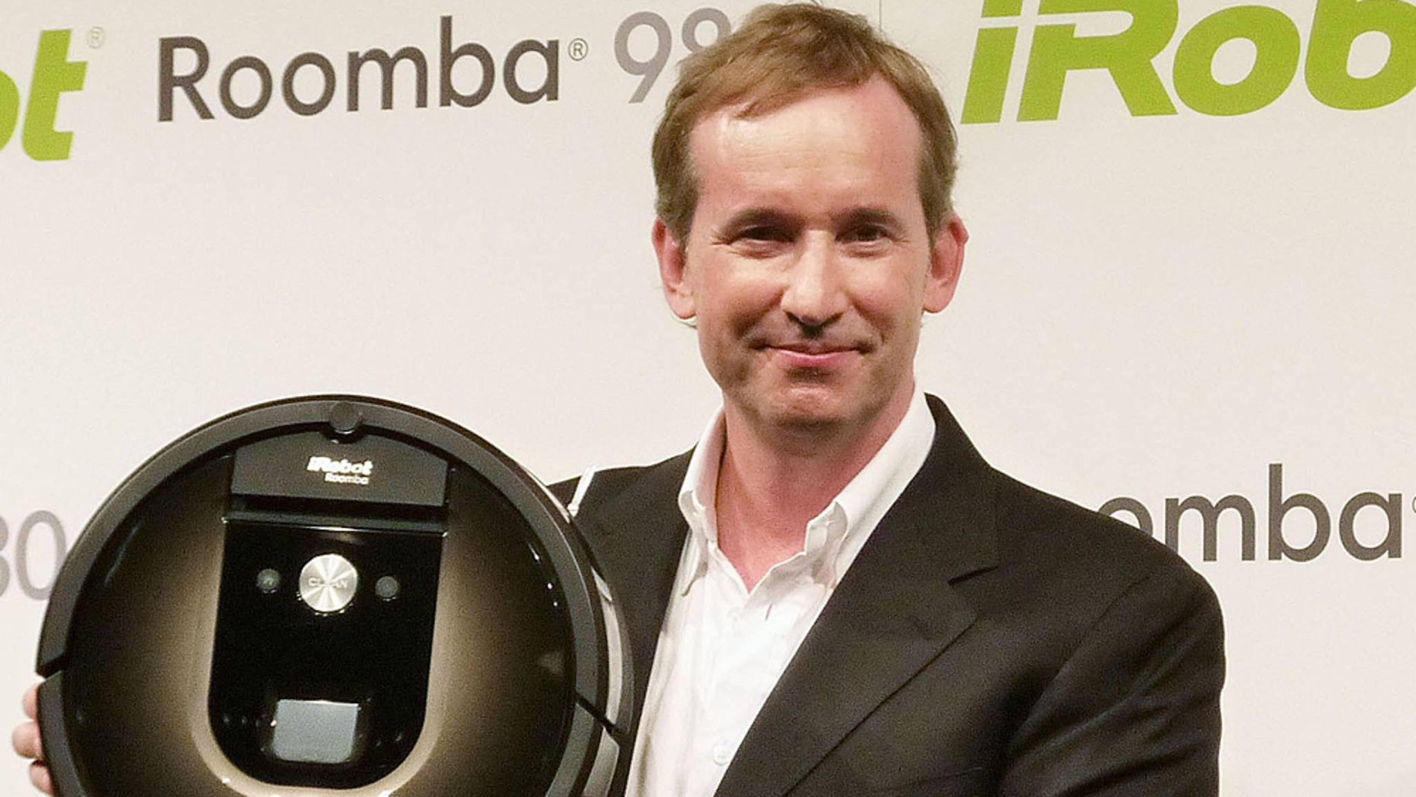 iRobot-CEO Colin Angle hat offenbar große Pläne mit den von Roomba gesammelten Daten.