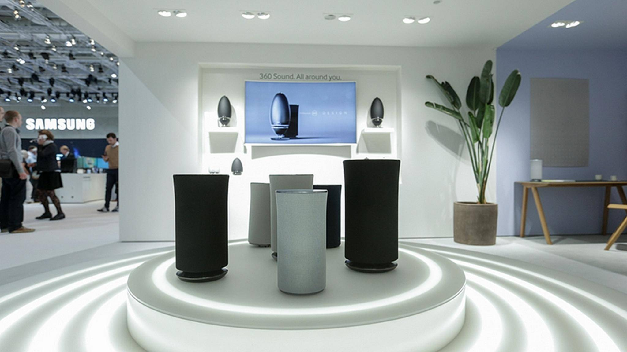 In Zukunft könnte Samsung auch Lautsprecher mit Bixby anbieten.