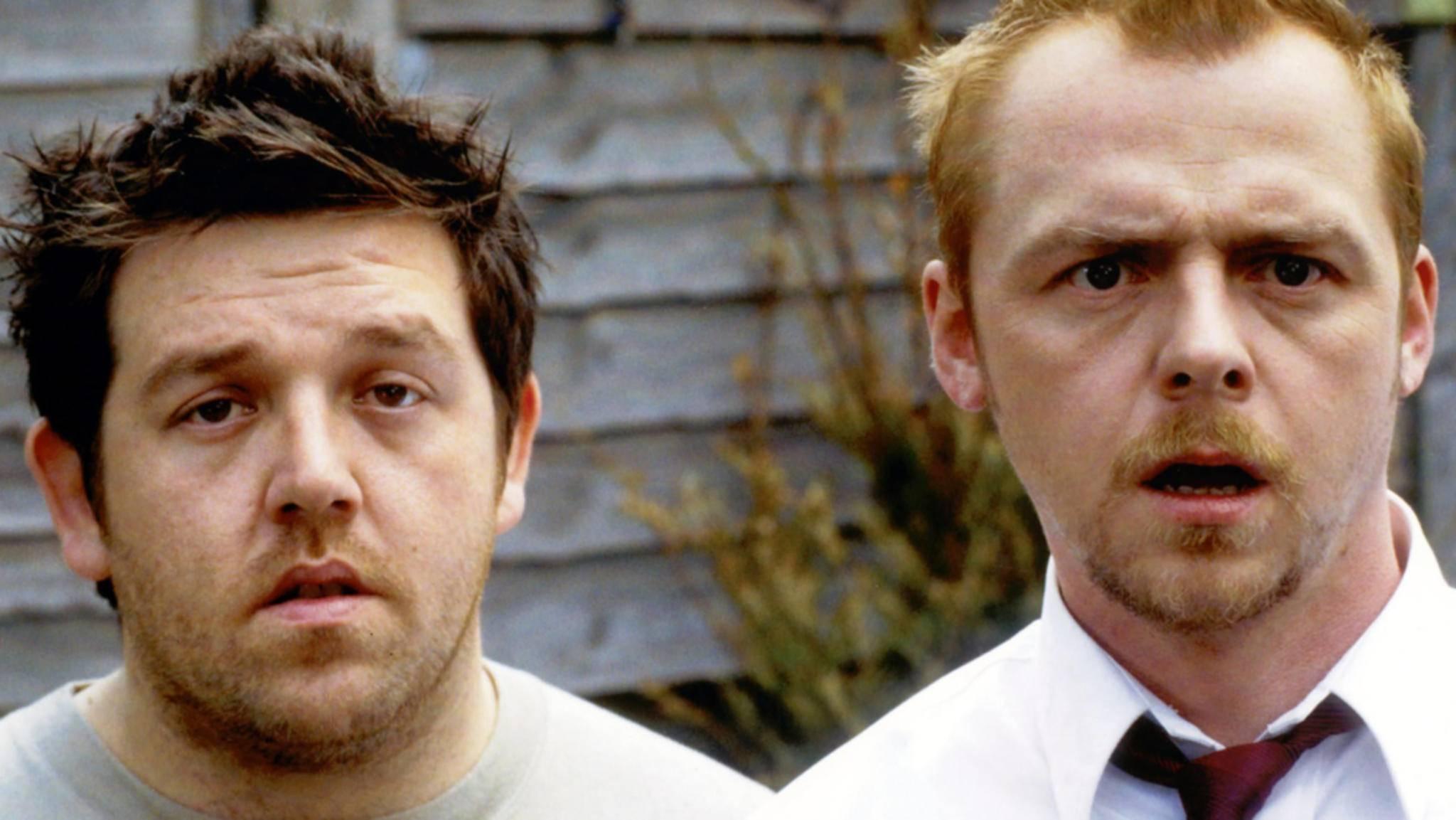 """Ob Simon Pegg und Nick Frost in """"Slaughterhouse Rulez"""" wohl wieder gemeinsam vor der Kamera stehen werden wie einst in """"Shaun of the Dead""""?"""