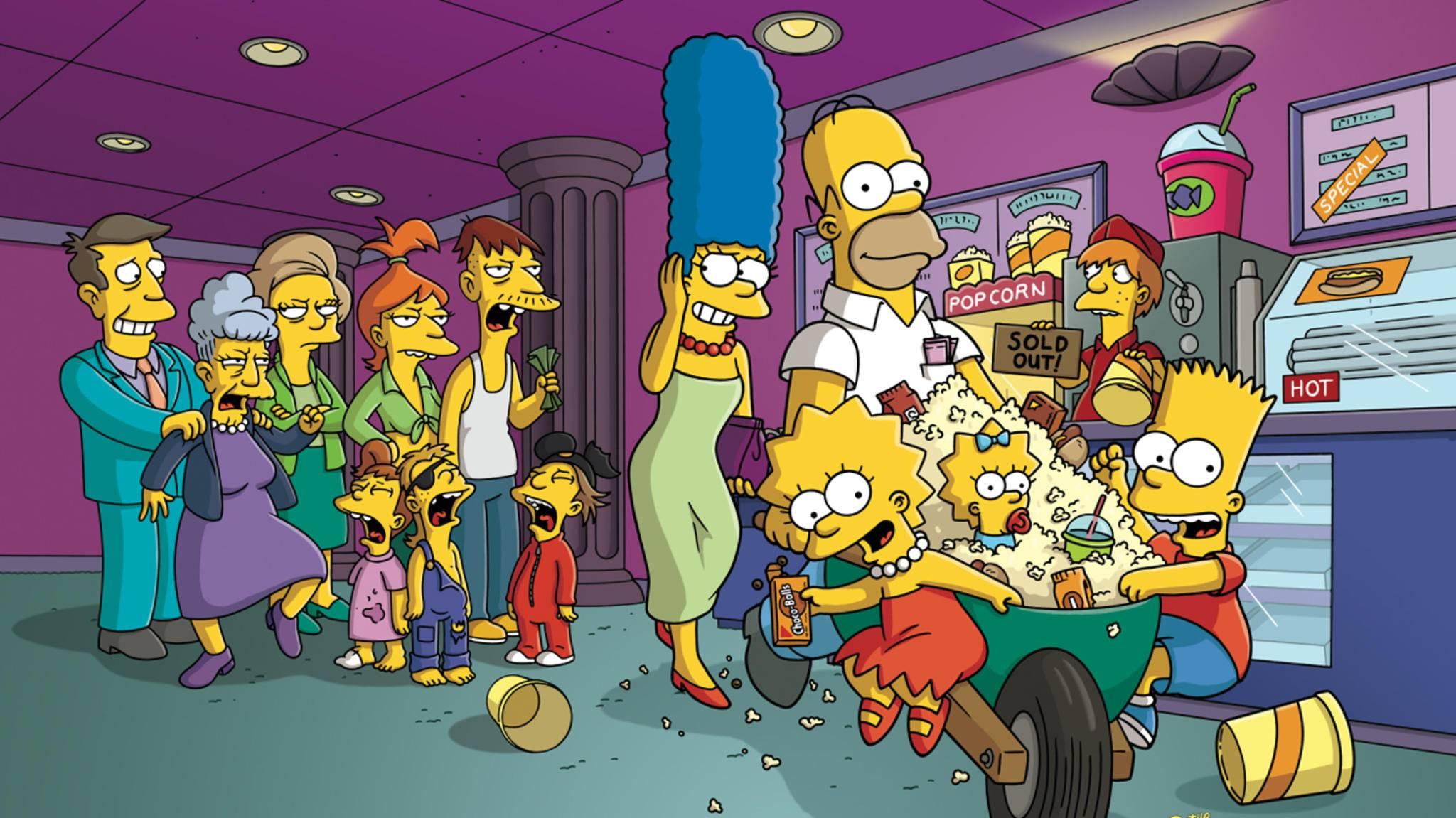 """Die Simpsons wieder im Kino? Das könnte mit einem Sequel zu """"Die Simpsons: Der Film"""" Wirklichkeit werden."""