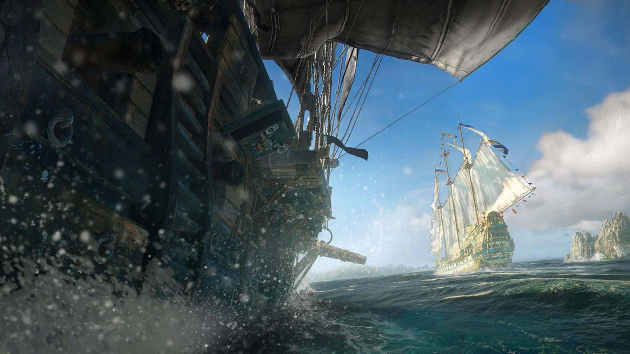 """In """"Skull & Bones"""" machst Du Karriere als Piratenkapitän."""