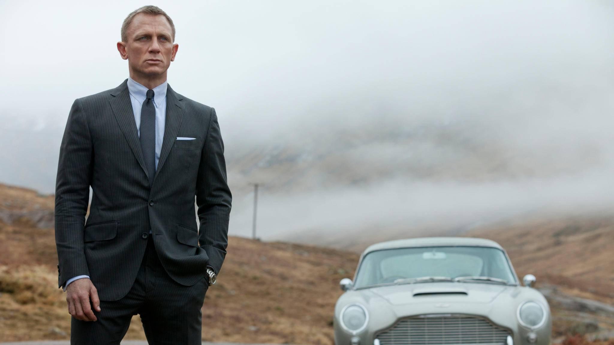 """Auch in """"Bond 25"""" bekommt 007 wieder einen Aston Martin – aber als Elektroversion."""