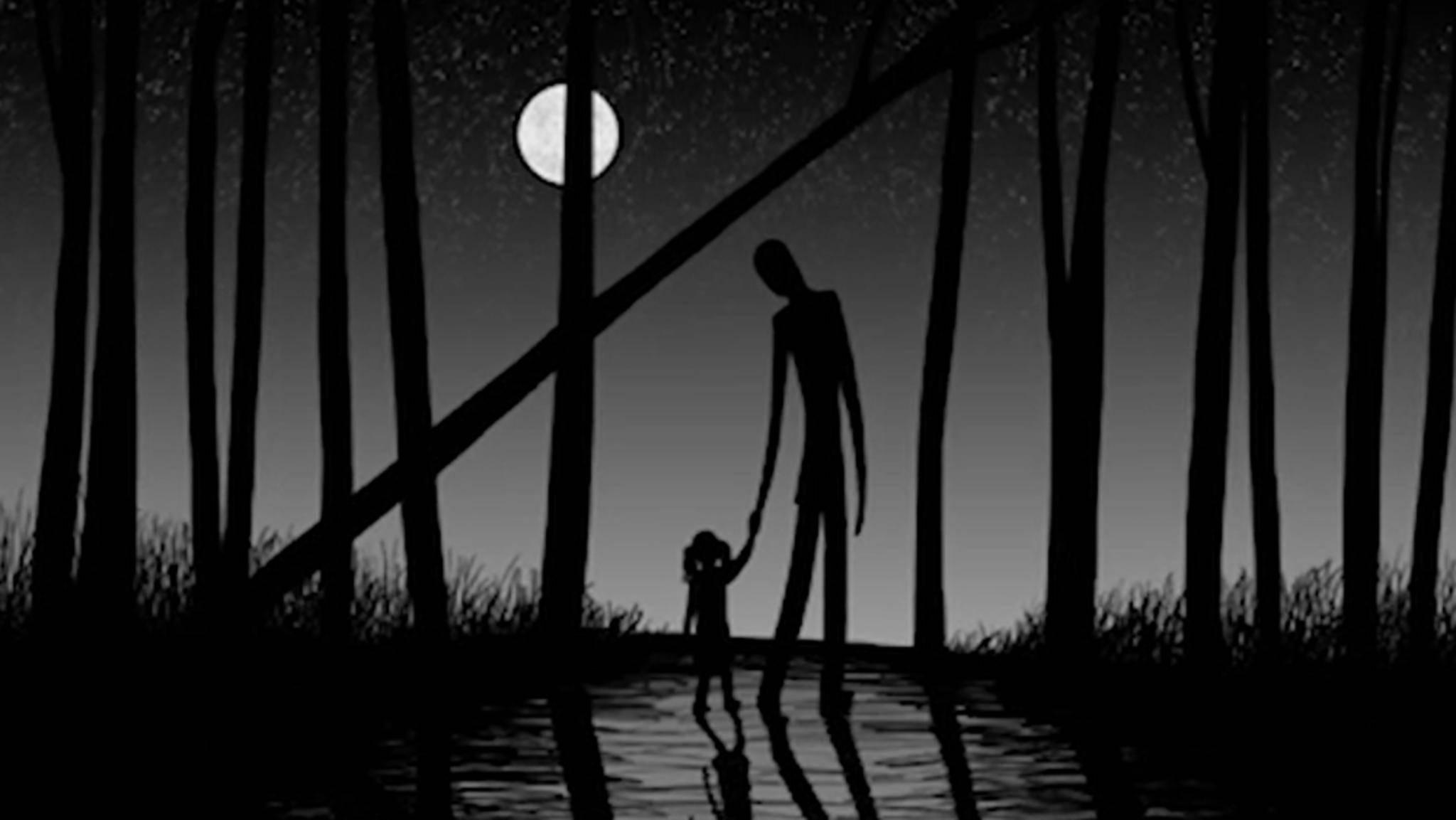 """""""Slender Man"""" soll besonders gerne Kinder entführen."""