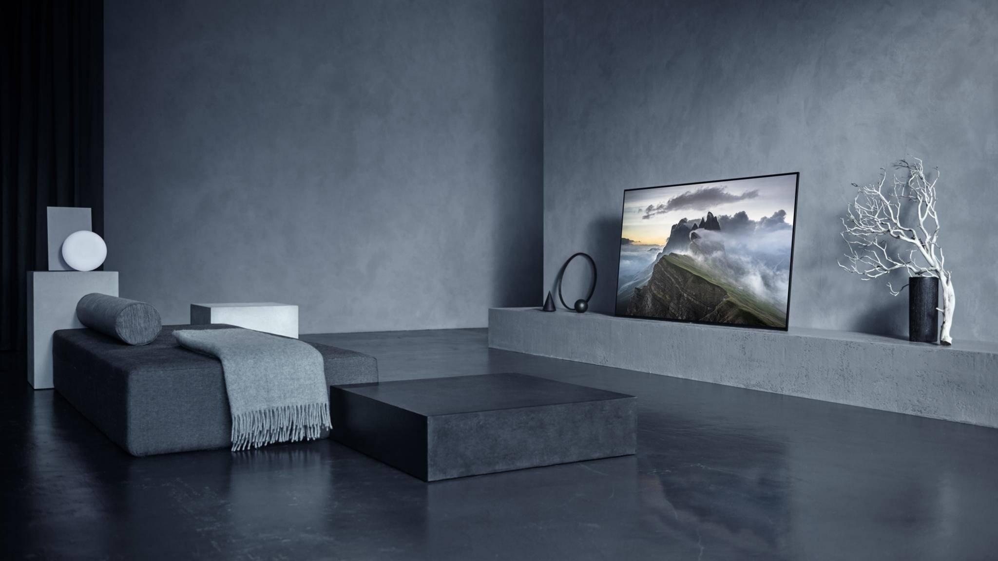 Der Bravia A1 markiert den Einstieg von Sony in die OLED-Welt.