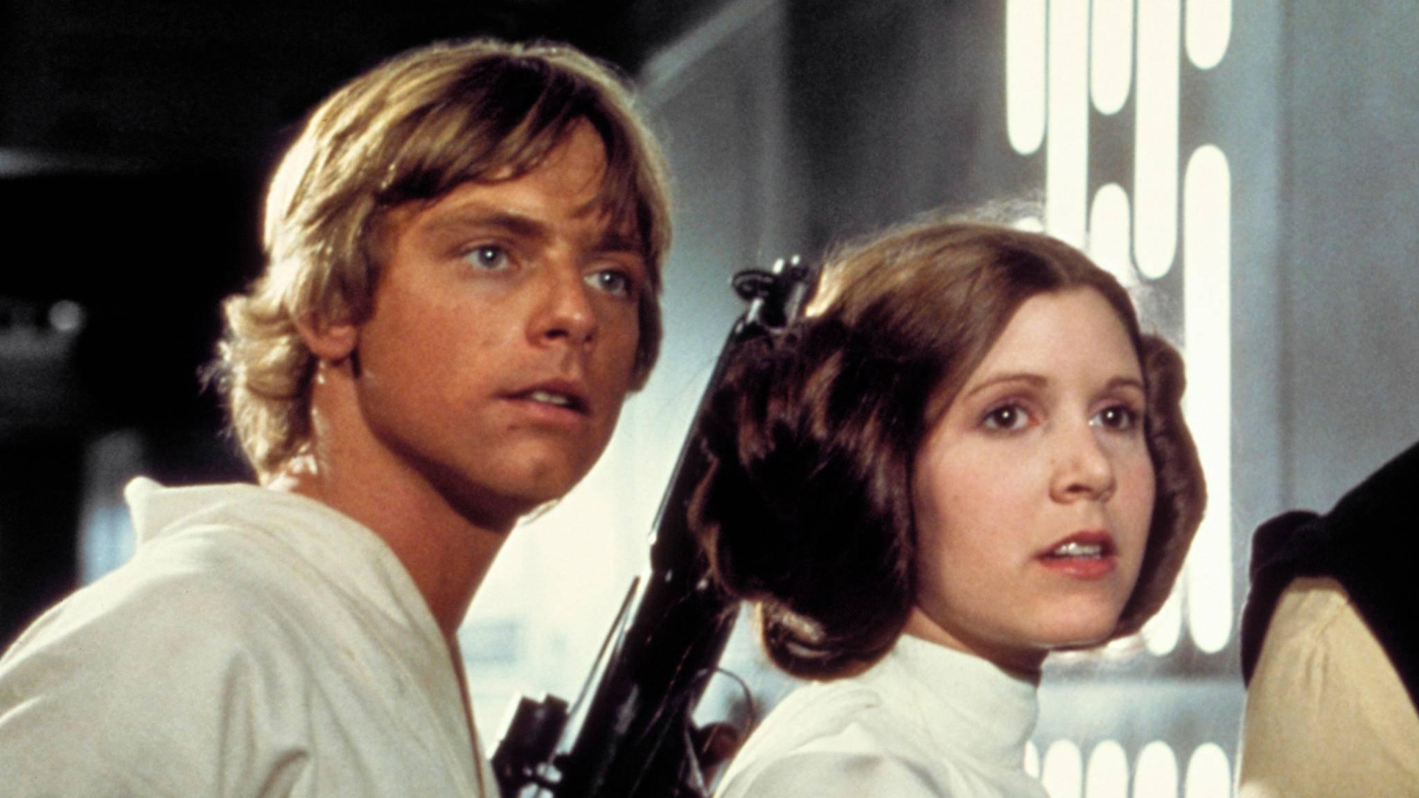 """Durch """"Star Wars"""" wurde sie unsterblich: Carrie Fisher."""