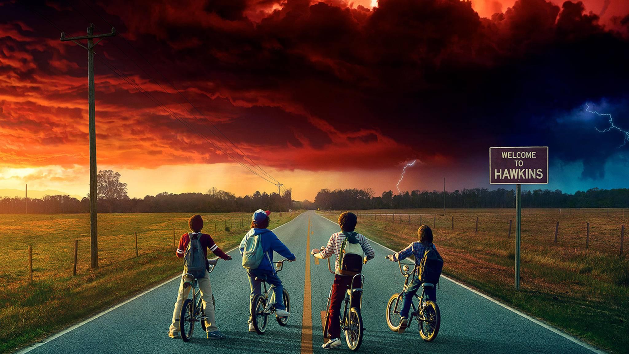 """Weniger ist mehr? Staffel 3 von """"Stranger Things"""" wird wieder mit weniger Episoden auskommen müssen."""