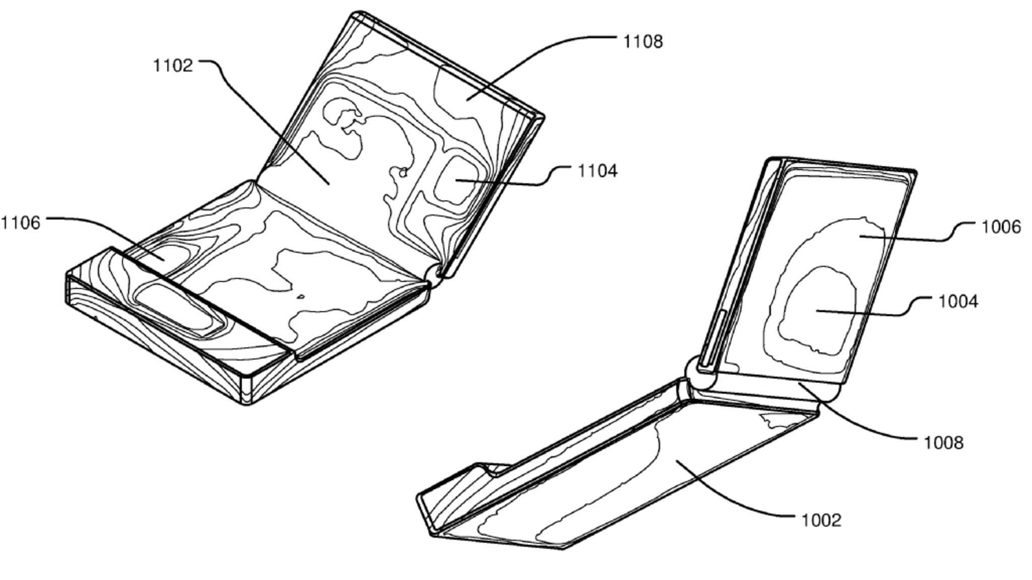 Zeigt dieses Patent das Surface Phone?