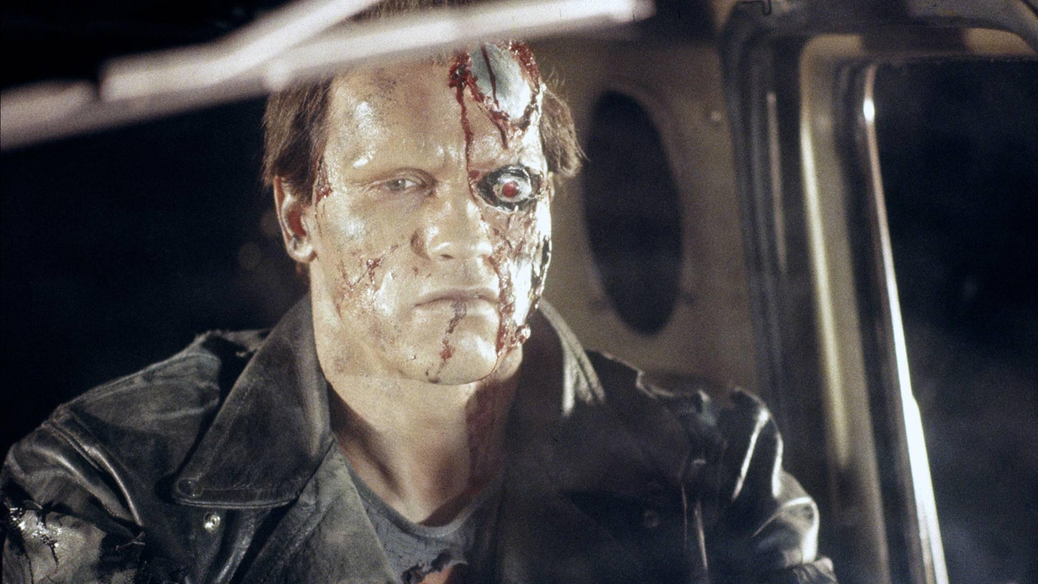 """Wie groß Arnold Schwarzeneggers Anteil an der neuen """"Terminator""""-Trilogie sein wird, wollte James Cameron noch nicht verraten."""