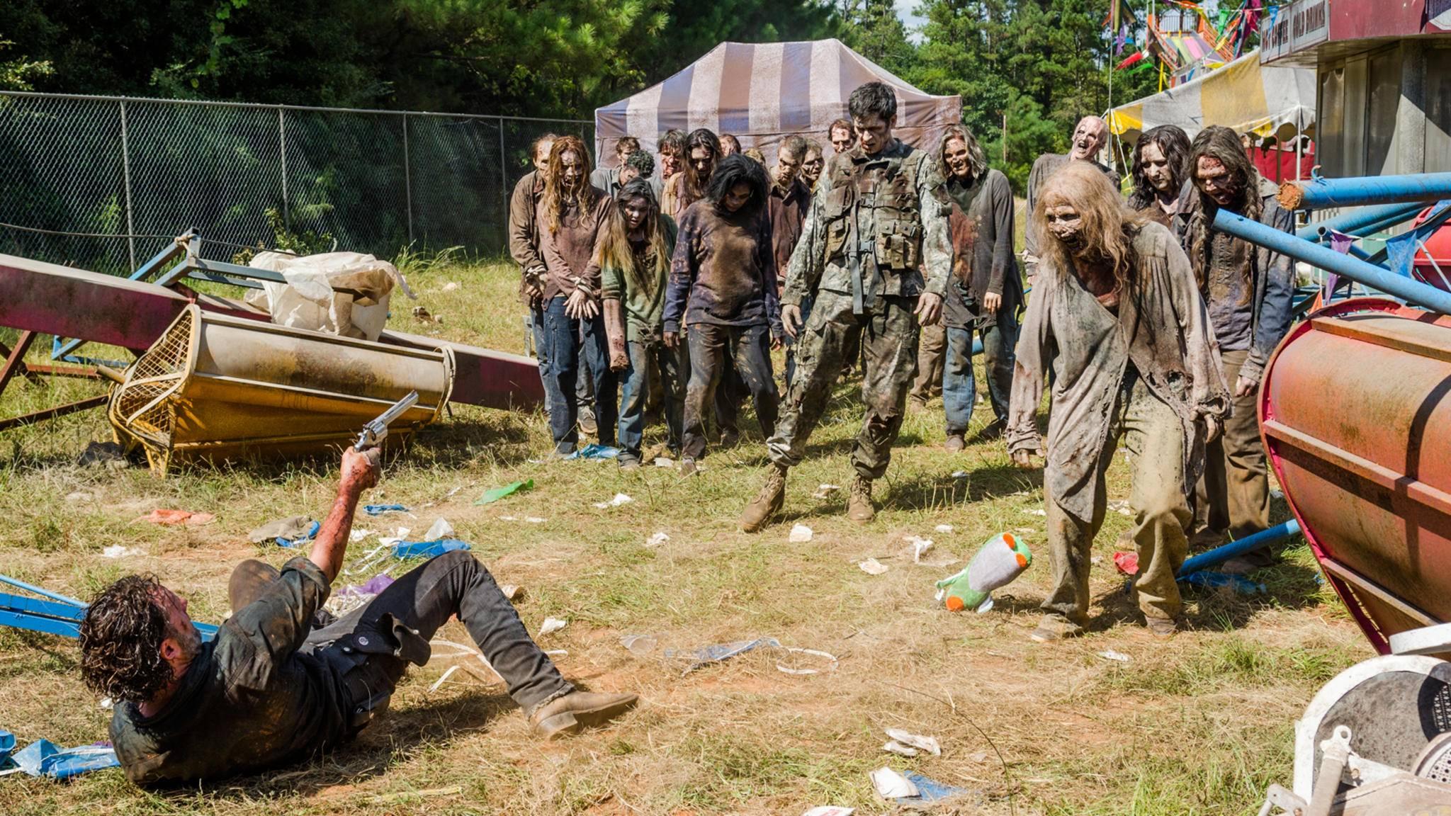 """Auch in Staffel 8 von """"The Walking Dead"""" werden es die Charaktere weiter mit Beißern zu tun bekommen."""