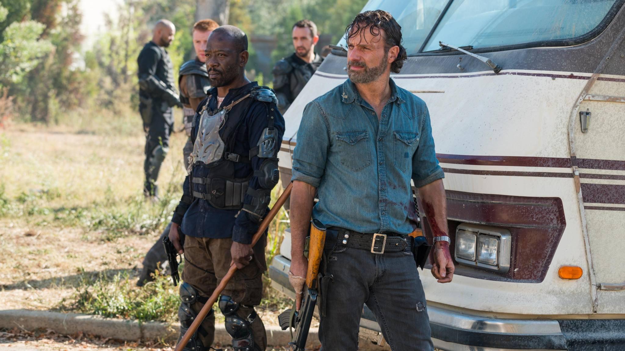"""Neue Fotos aus Staffel 8 schüren die Vorfreude der Fans von """"The Walking Dead""""."""