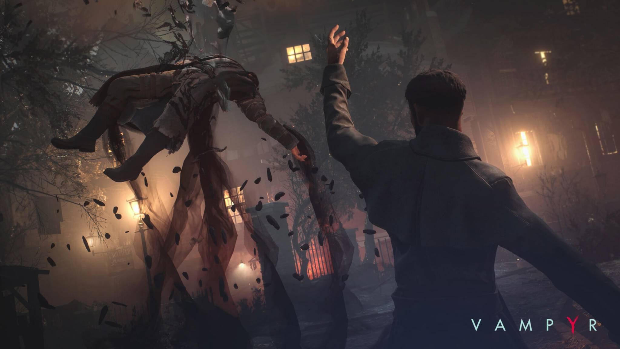 """Neue wählbare Schwierigkeitsgrade machen """"Vampyr"""" demnächst zugänglicher – oder bockschwer."""