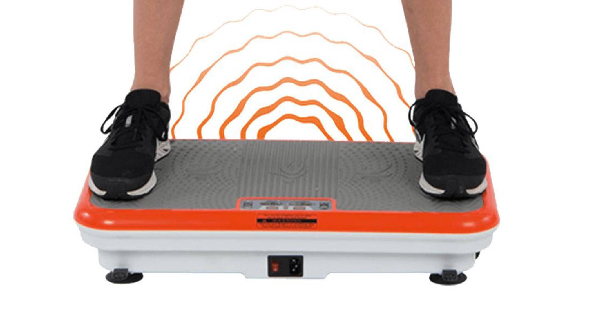 Die Vibrationsplatte Vibro Shaper soll das ultimative Fitness-Gadget sein.