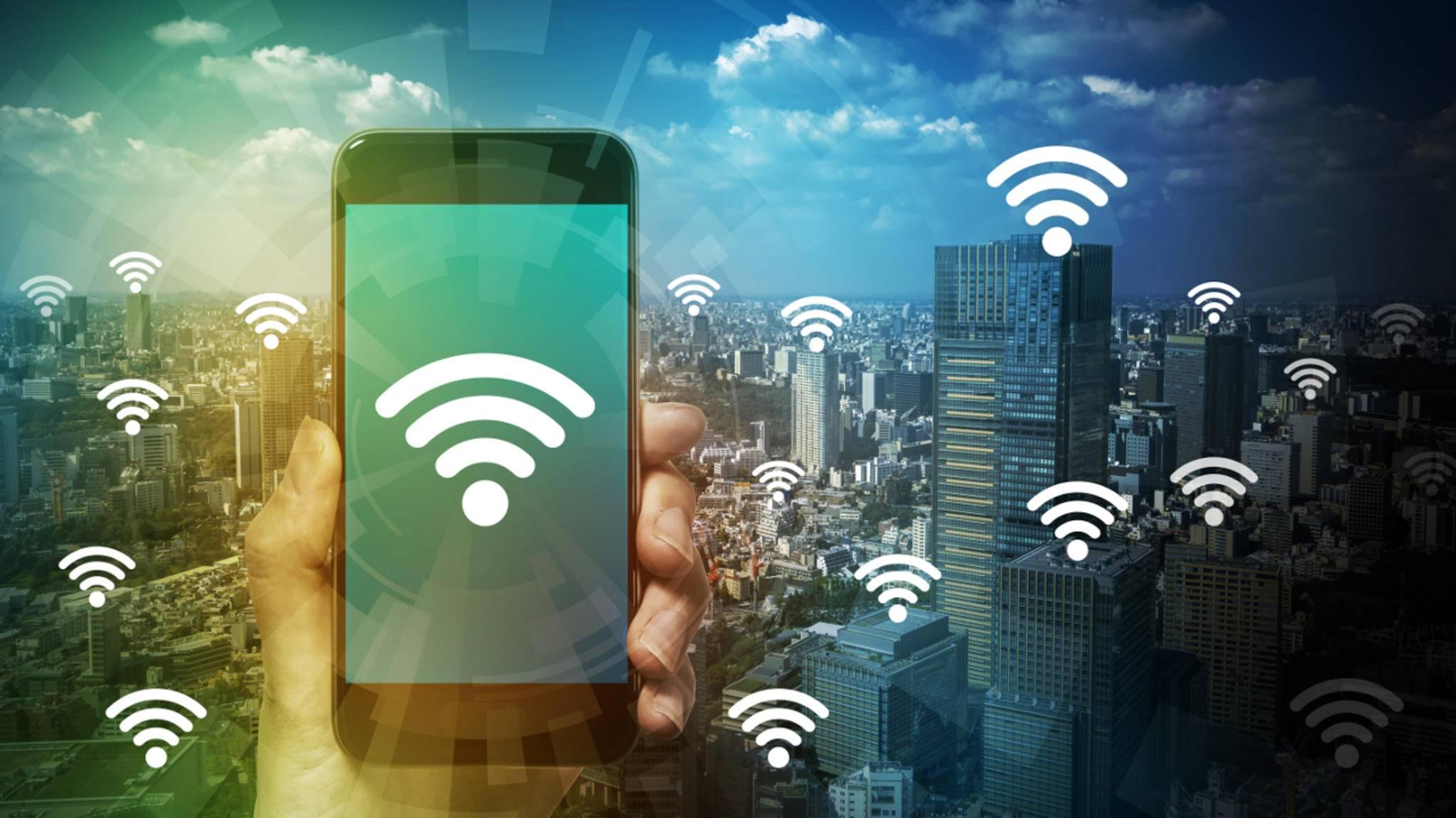 Fast alle WLAN-Netze arbeiten mit der WPA2-Verschlüsselung.