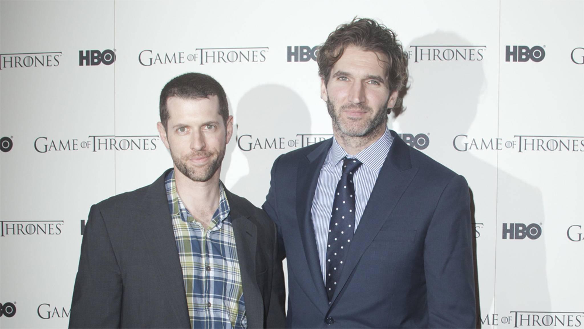 """David Benioff und D.B. Weiss bleiben HBO auch bei ihrem neuen Projekt """"Confederate"""" erhalten."""