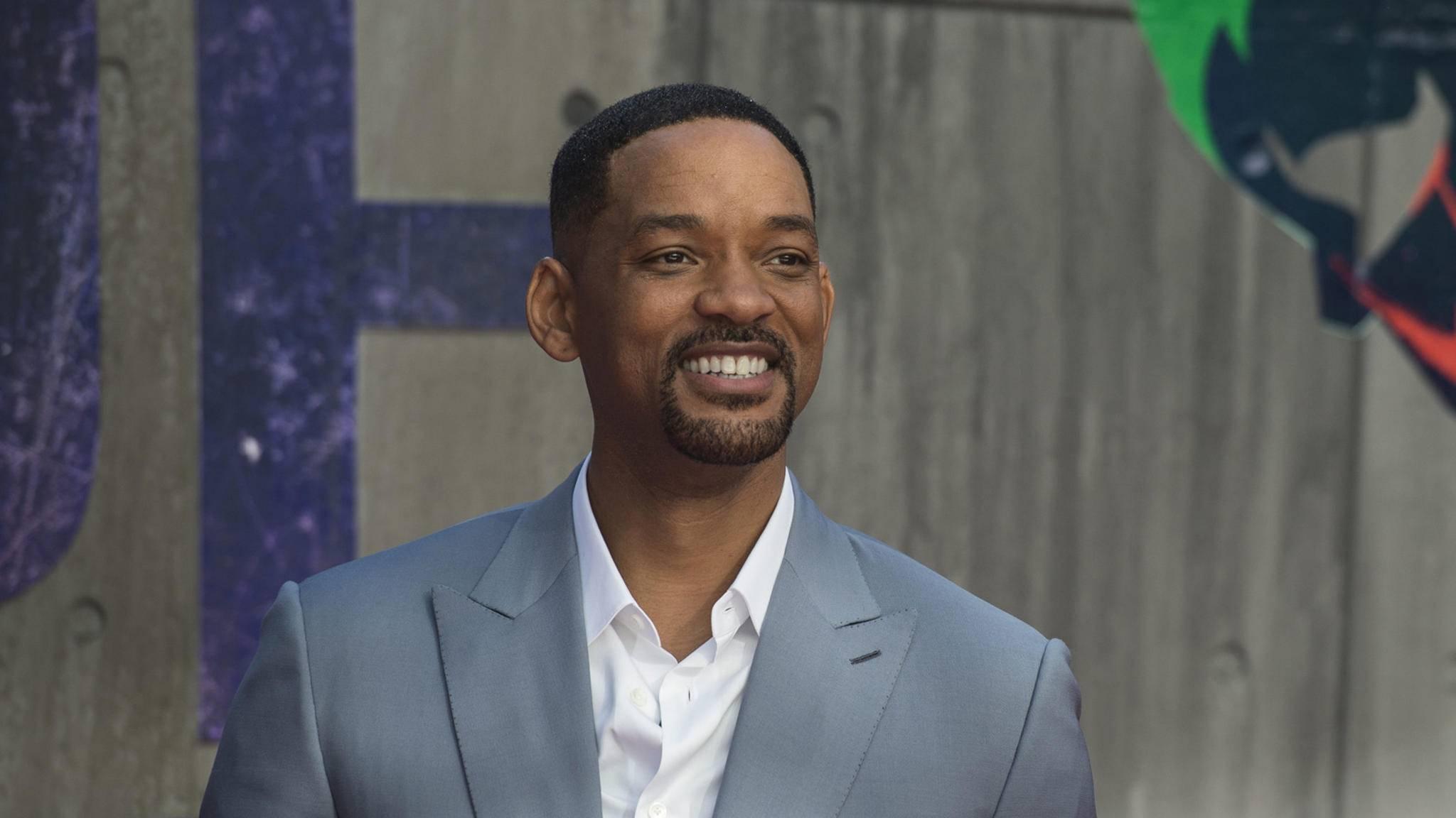 """Drei Darsteller für das kommende """"Aladdin""""-Remake stehen fest – mit dabei: Will Smith als Dschinni."""