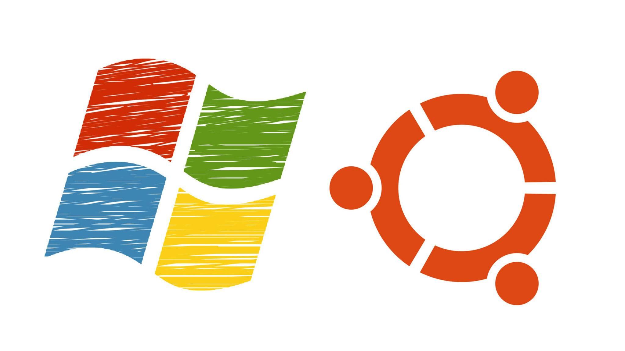 Wir haben uns Windows 10 und Ubuntu im Vergleich angesehen.
