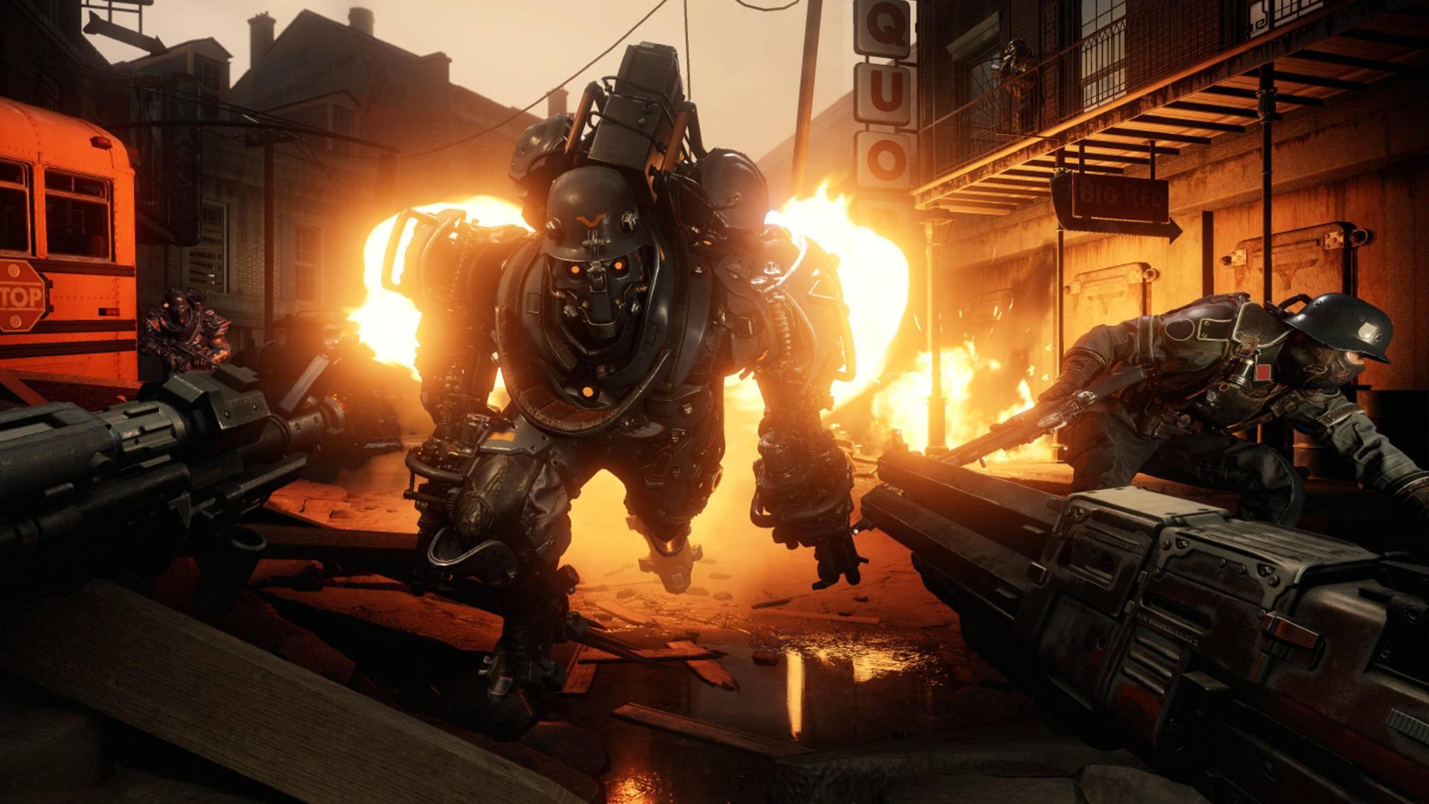 """""""Wolfenstein 2: The New Colossus"""": Erste Details zum DLC veröffentlicht."""