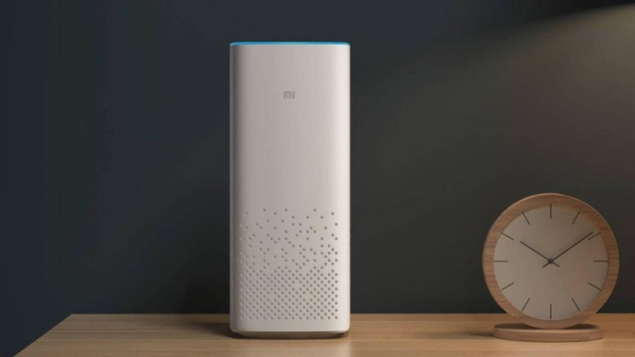 Der Xiaomi Mi AI Speaker wird wohl zunächst nur in China erscheinen.