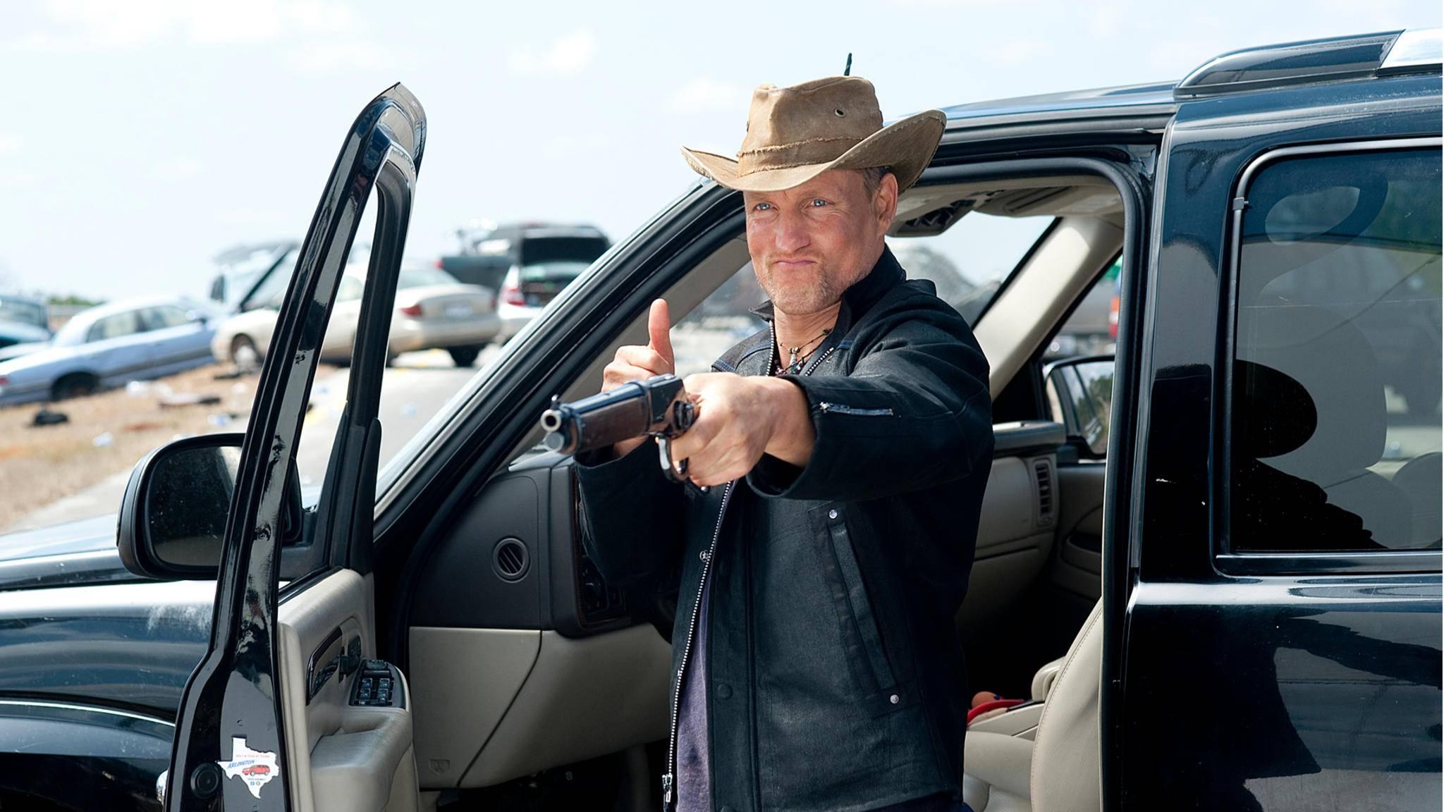 """Nicht verhandelbar: Woody Harrelson hat eine Bedingung für """"Zombieland 2""""."""