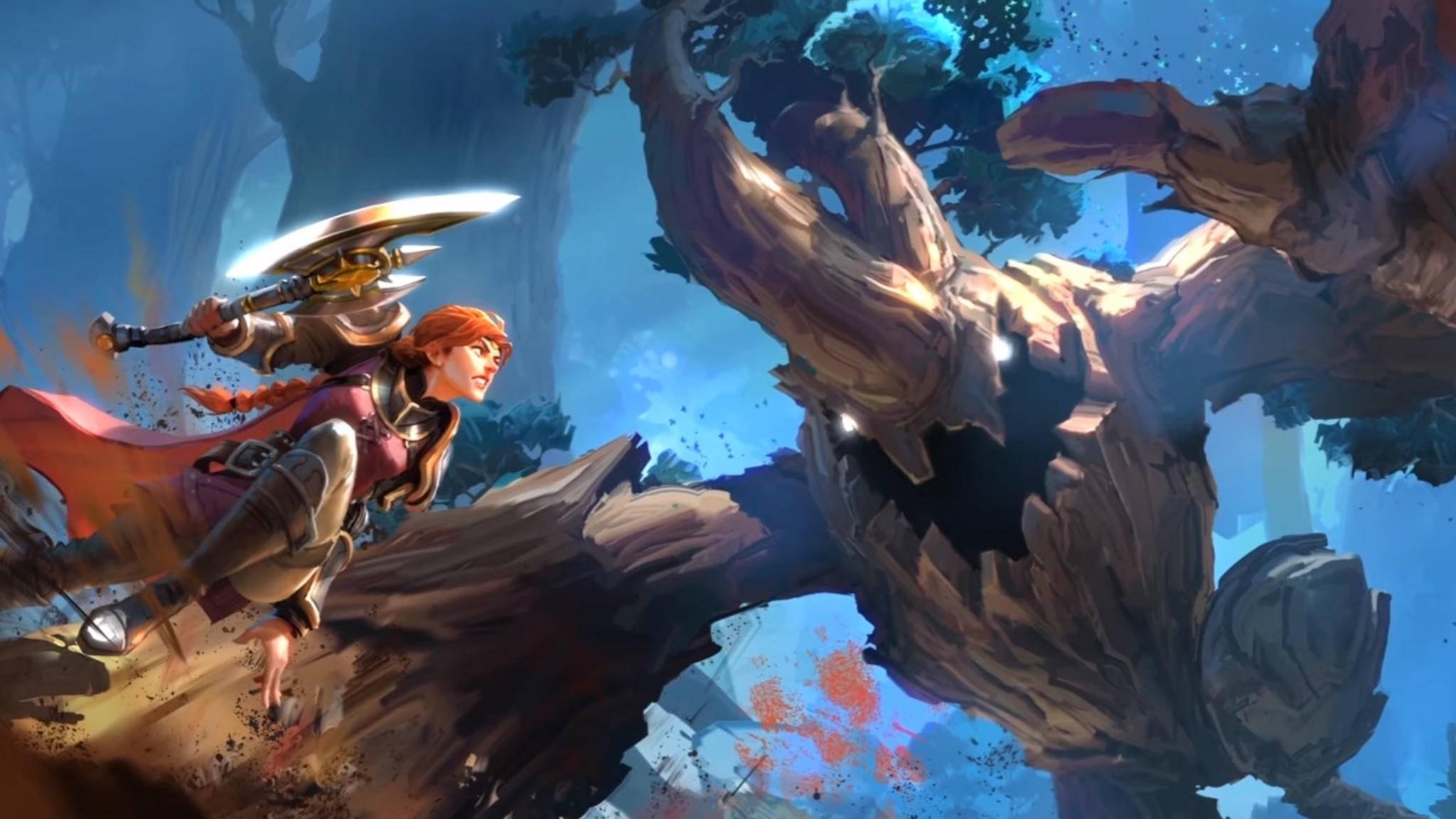 """Kämpfen, sammeln, craften: In """"Albion Online"""" können Spieler ganz diesen drei Leidenschaften frönen."""