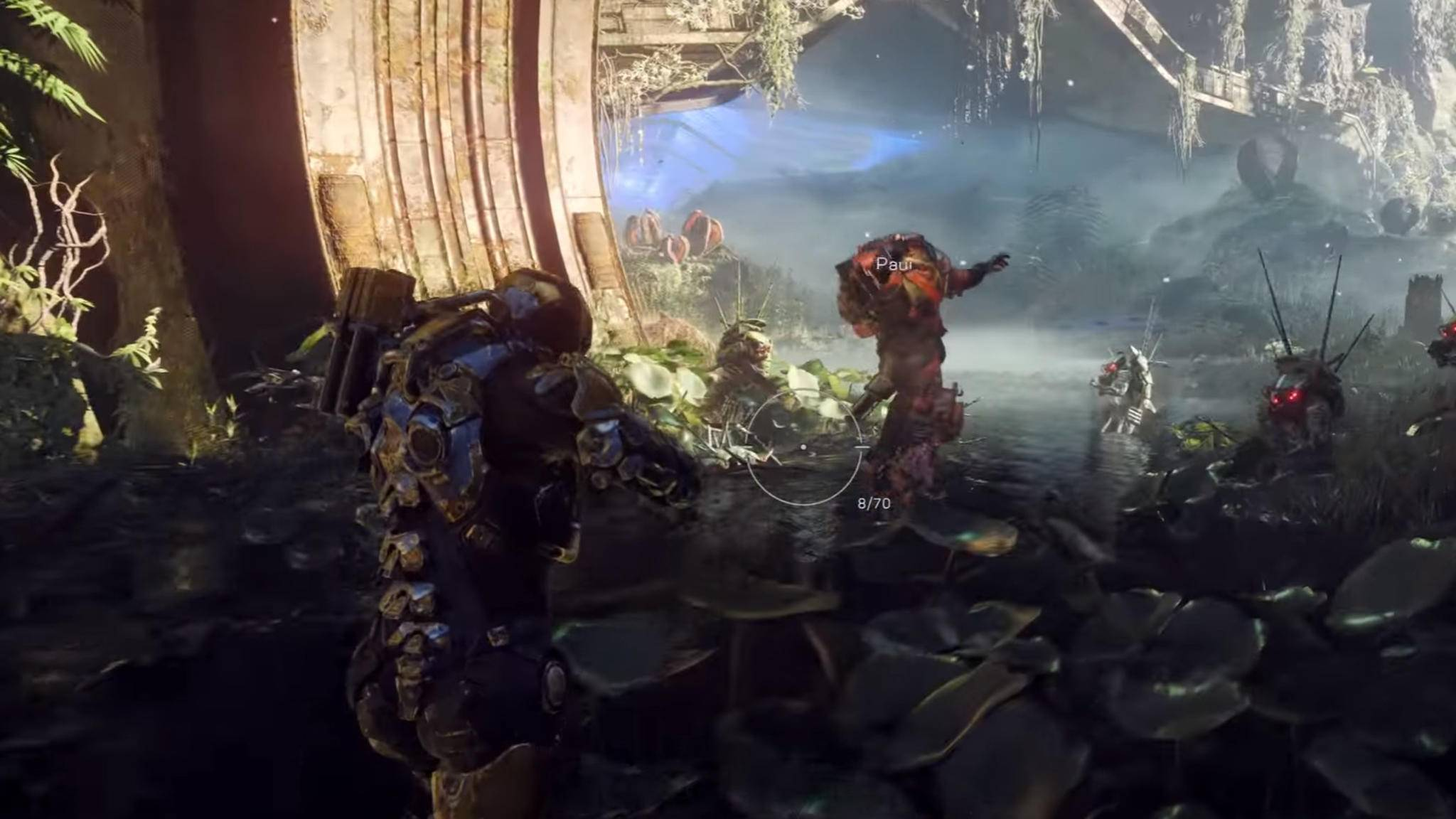 """""""Anthem"""" soll 2018 erscheinen. 2021 steht wohl ein weiteres Action-Game von EA in den Startlöchern."""